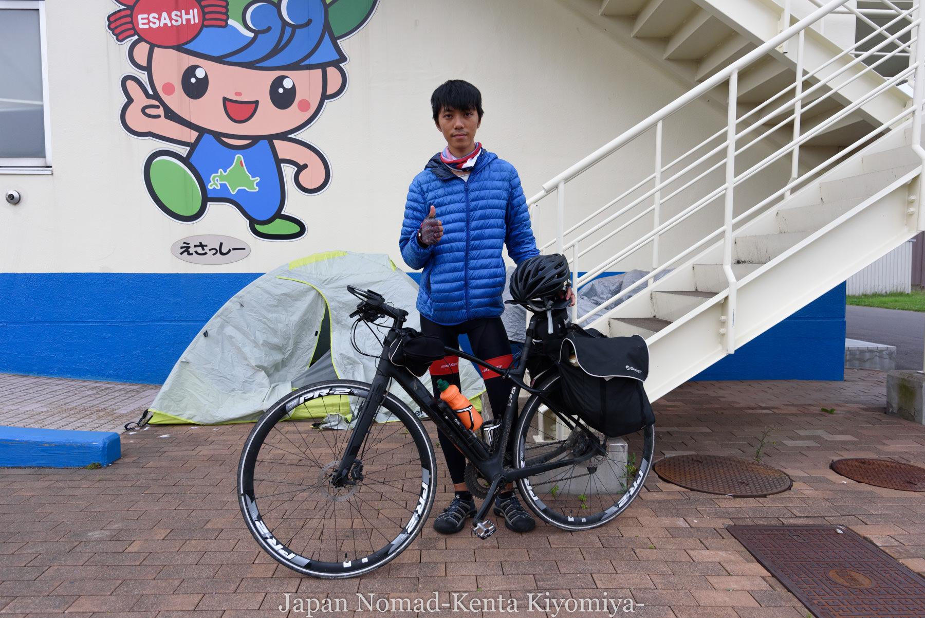 自転車日本一周90日目(発熱)-Japan Nomad (16)