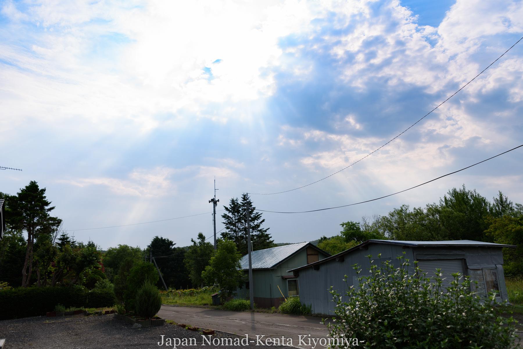 自転車日本一周95日目(メルヘンの丘)-Japan Nomad (2)