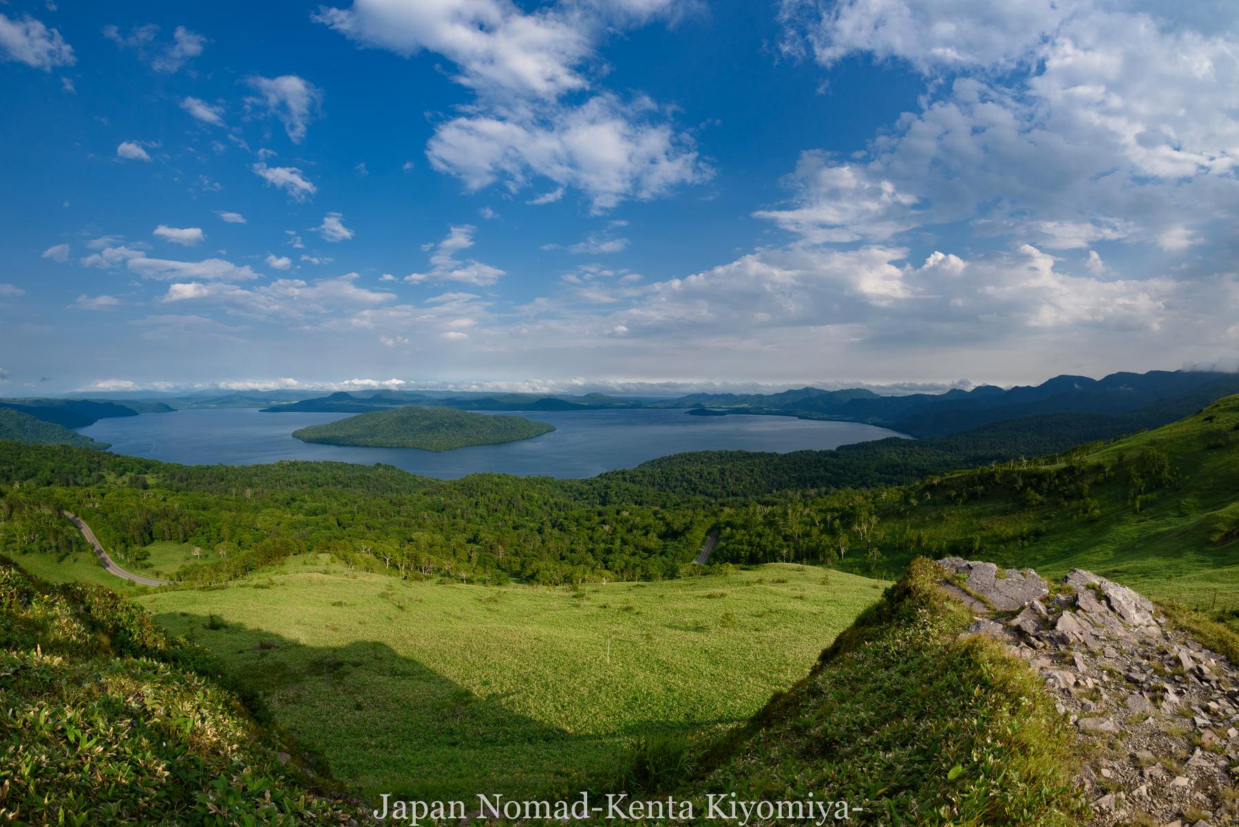 自転車日本一周96日目(美幌峠)-Japan Nomad (29)
