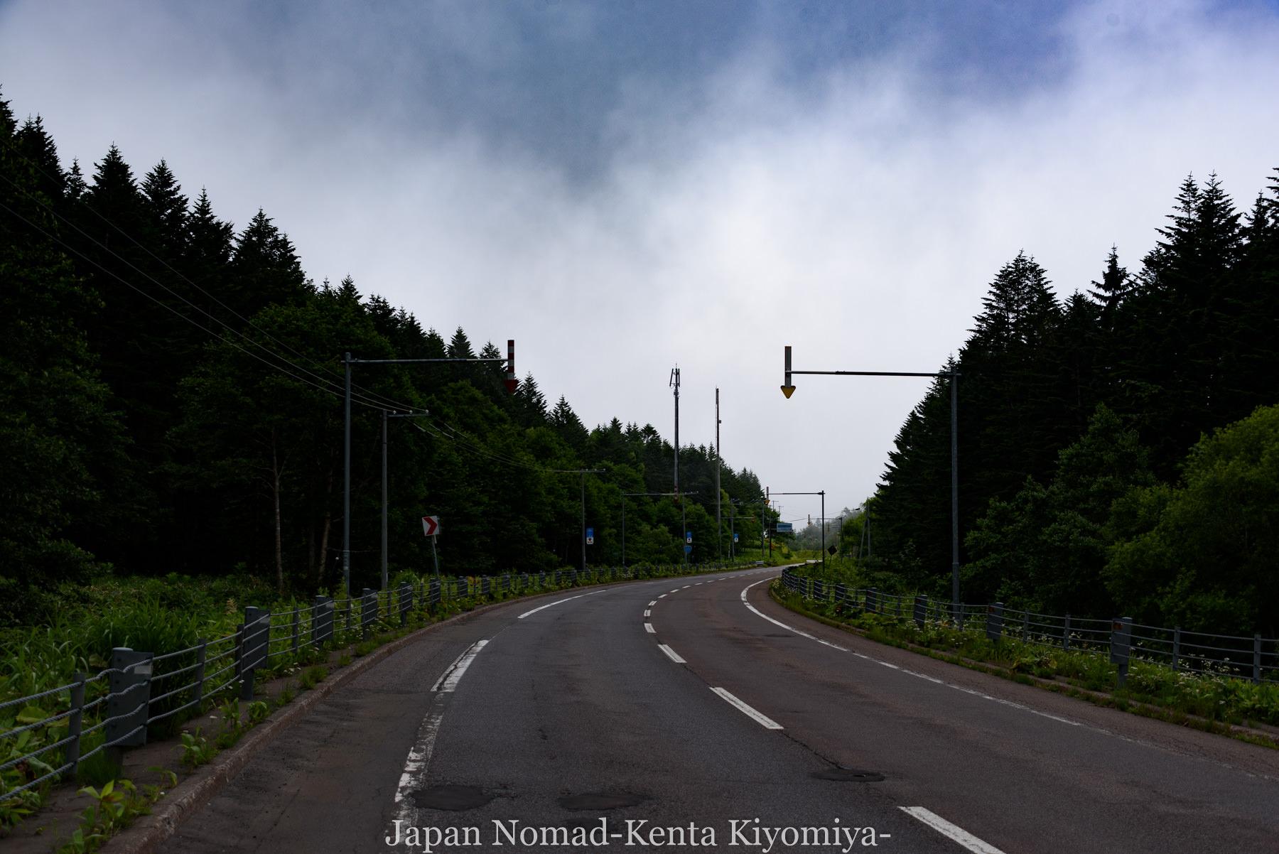 自転車日本一周96日目(美幌峠)-Japan Nomad (9)