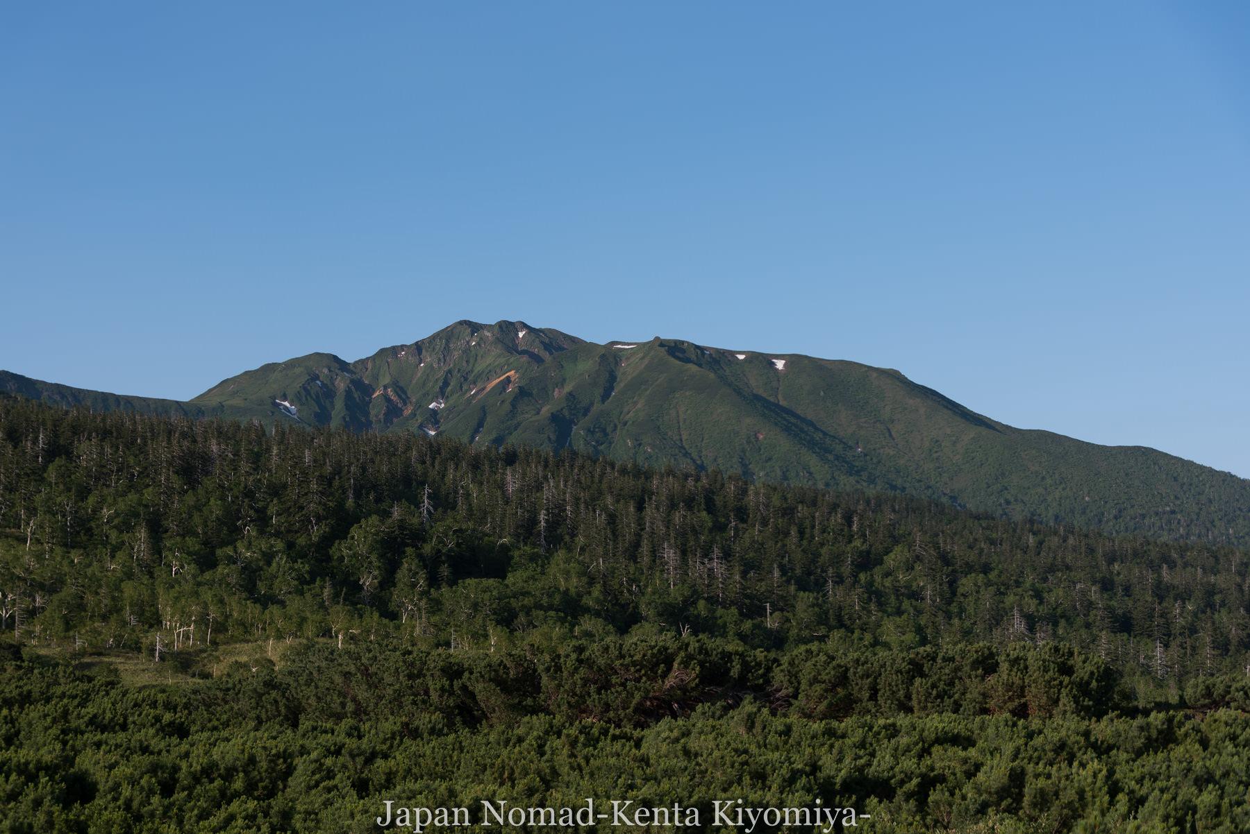 自転車日本一周(十勝岳)-Japan Nomad (10)