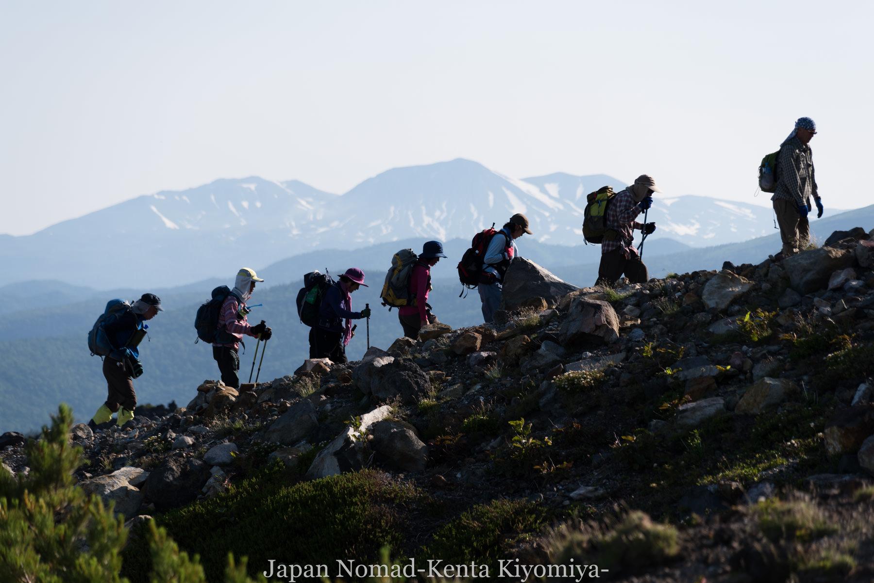 自転車日本一周(十勝岳)-Japan Nomad (14)
