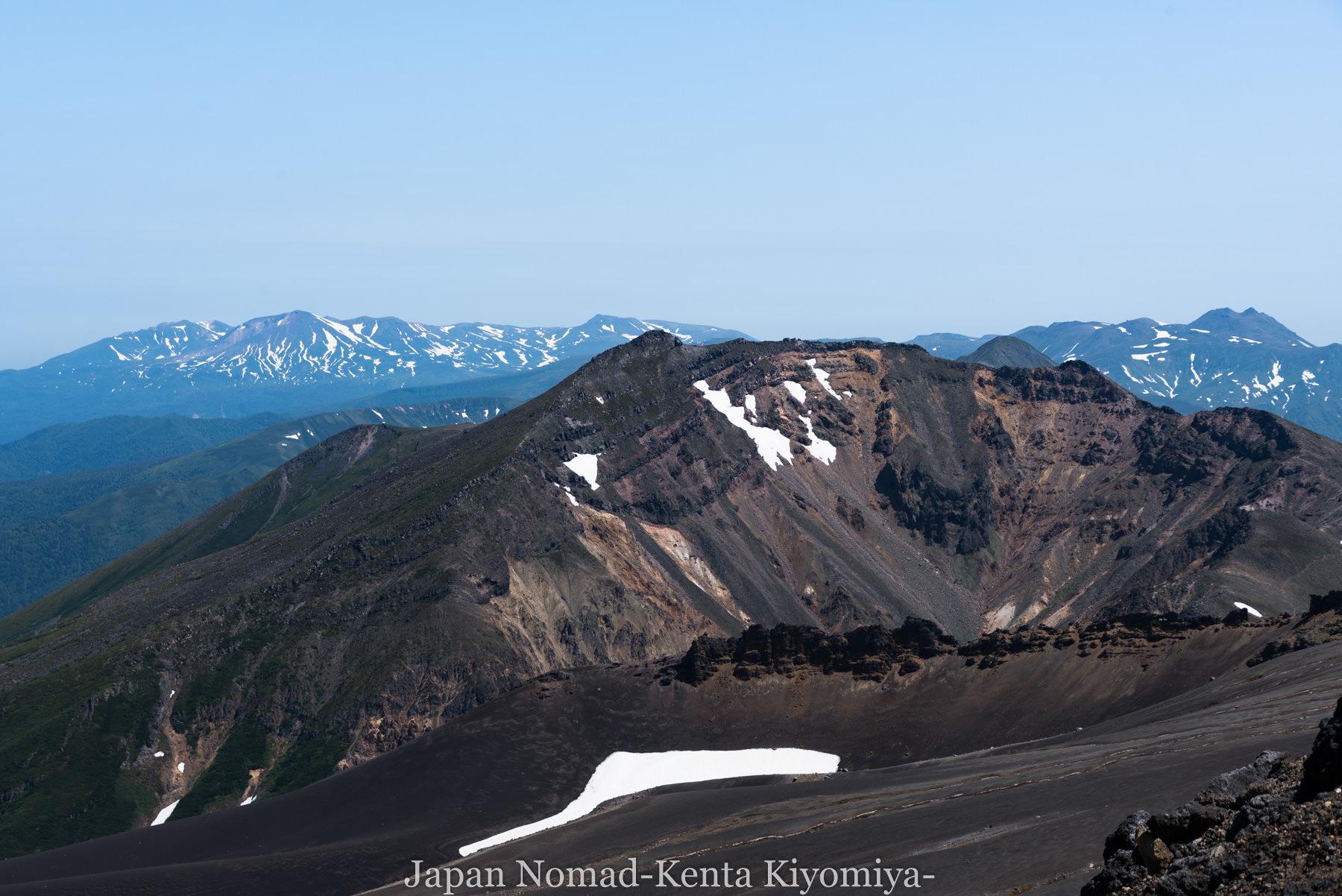 自転車日本一周(十勝岳)-Japan Nomad (35)