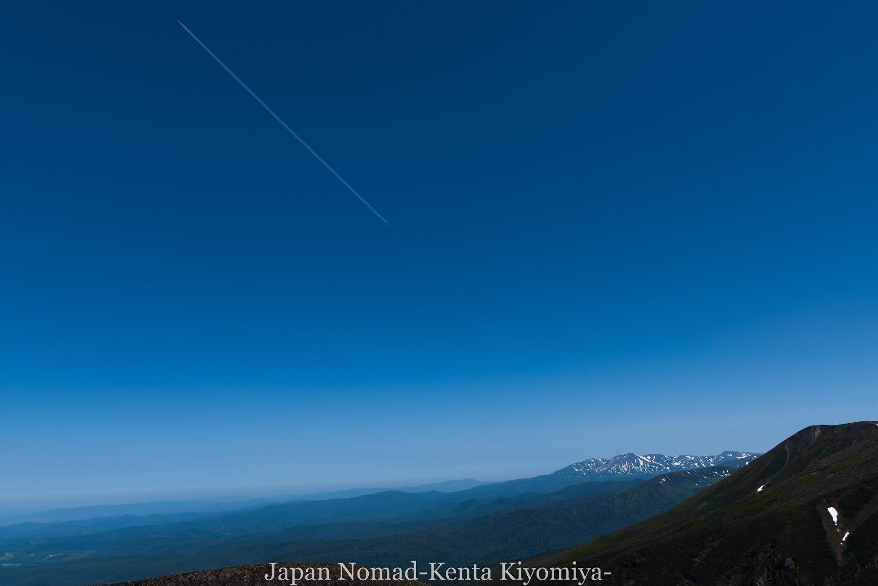 自転車日本一周(十勝岳)-Japan Nomad (37)