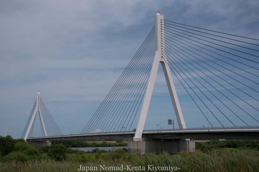 自転車日本一周70日目(日本一長い直線)-Japan Nomad (10)