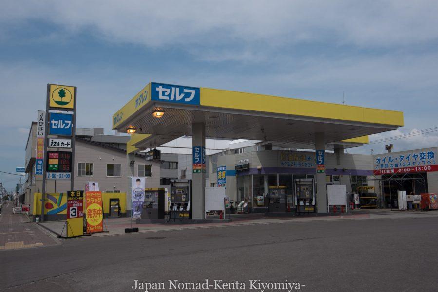 自転車日本一周70日目(日本一長い直線)-Japan Nomad (19)