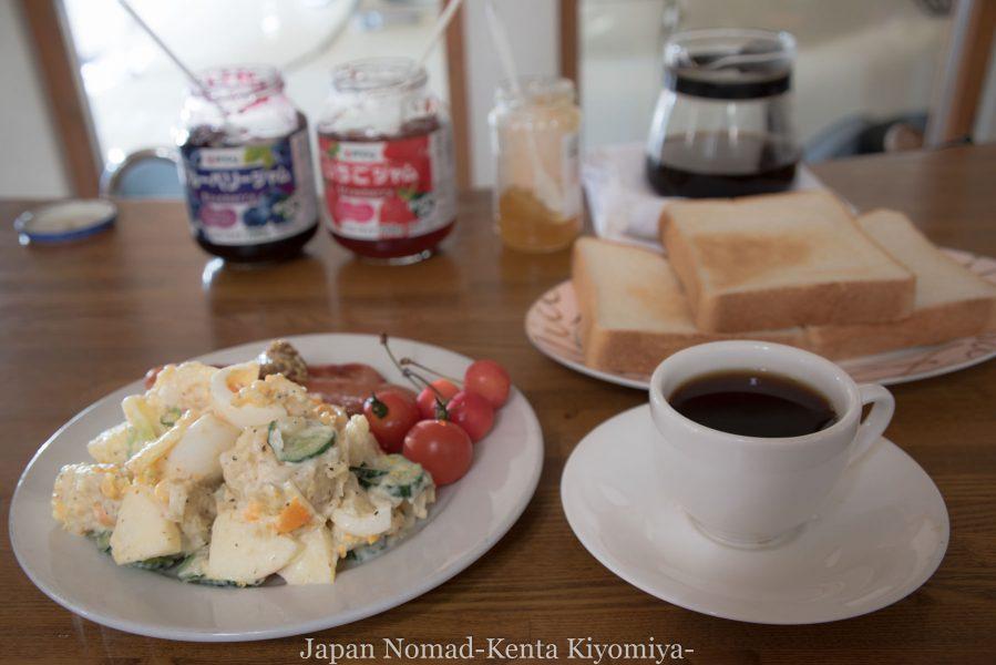 自転車日本一周70日目(日本一長い直線)-Japan Nomad (2)