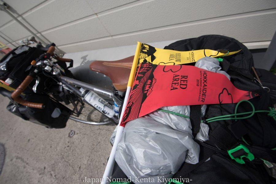 自転車日本一周70日目(日本一長い直線)-Japan Nomad (20)