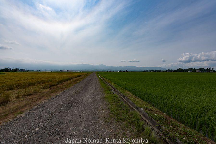 自転車日本一周70日目(日本一長い直線)-Japan Nomad (33)