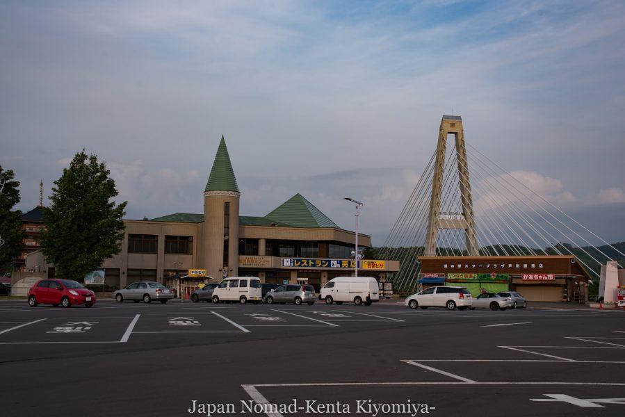 自転車日本一周70日目(日本一長い直線)-Japan Nomad (37)