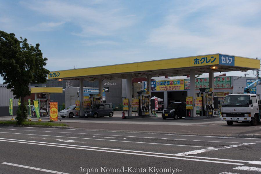自転車日本一周70日目(日本一長い直線)-Japan Nomad (6)