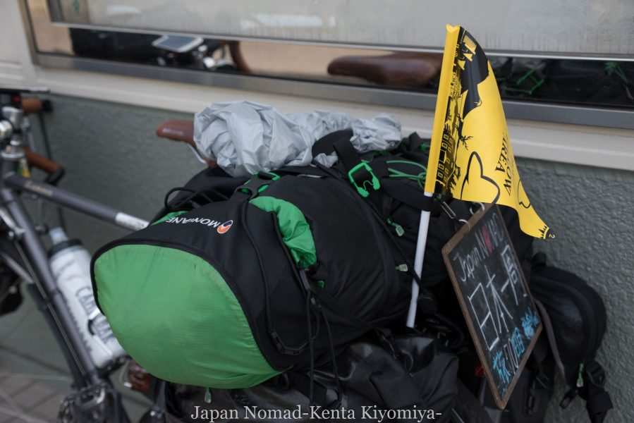 自転車日本一周70日目(日本一長い直線)-Japan Nomad (9)