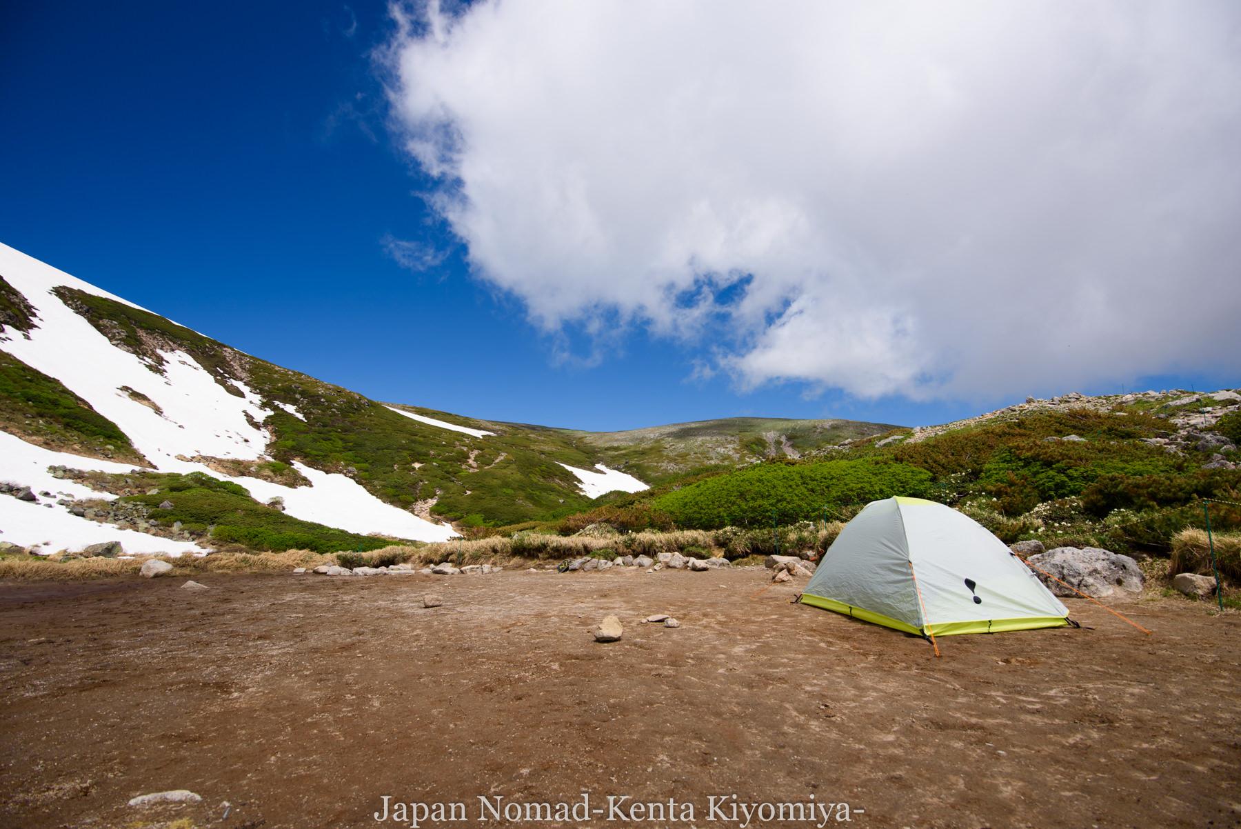 自転車日本一周77日目(大雪山縦走)-Japan Nomad (54)