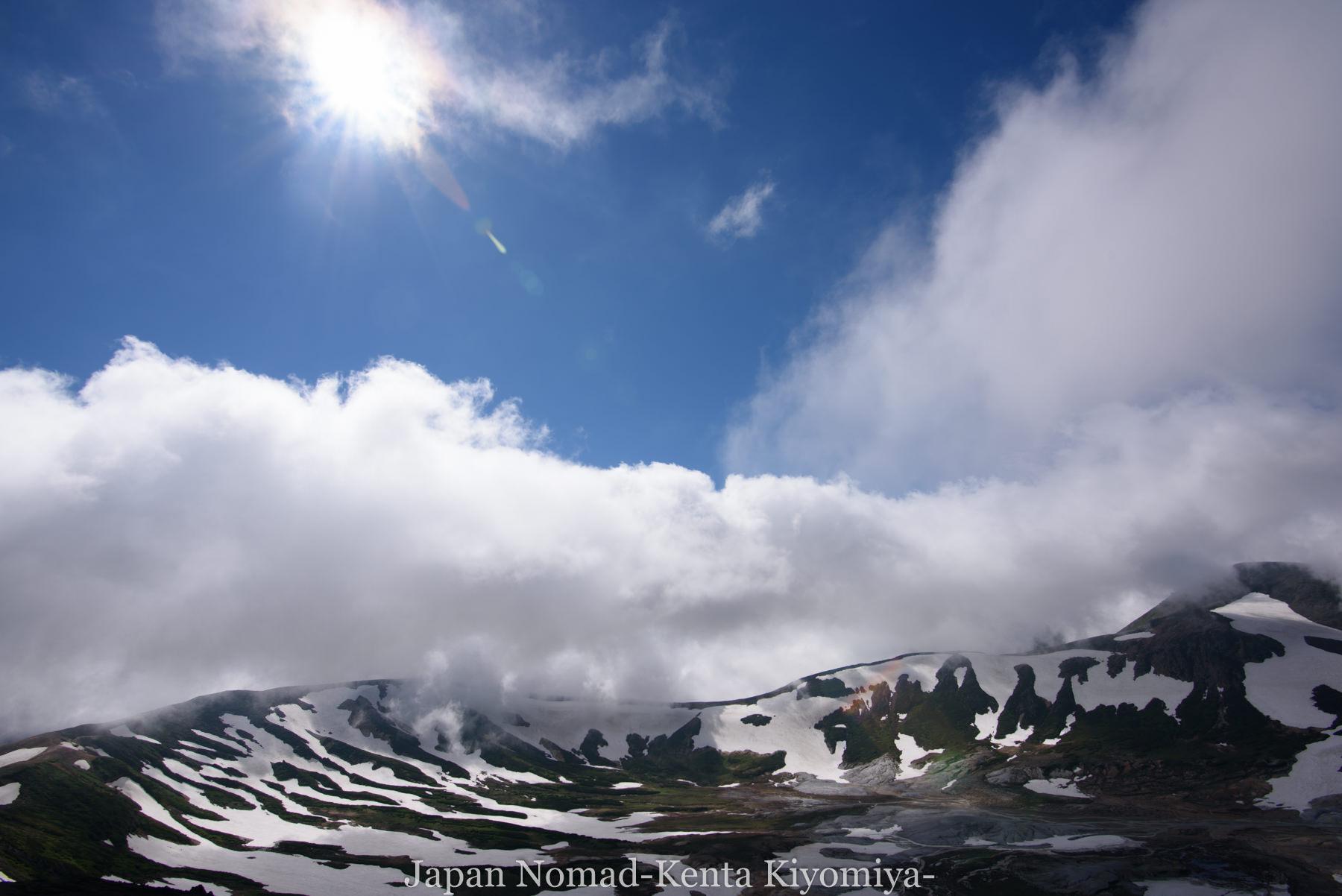 自転車日本一周77日目(大雪山縦走)-Japan Nomad (72)
