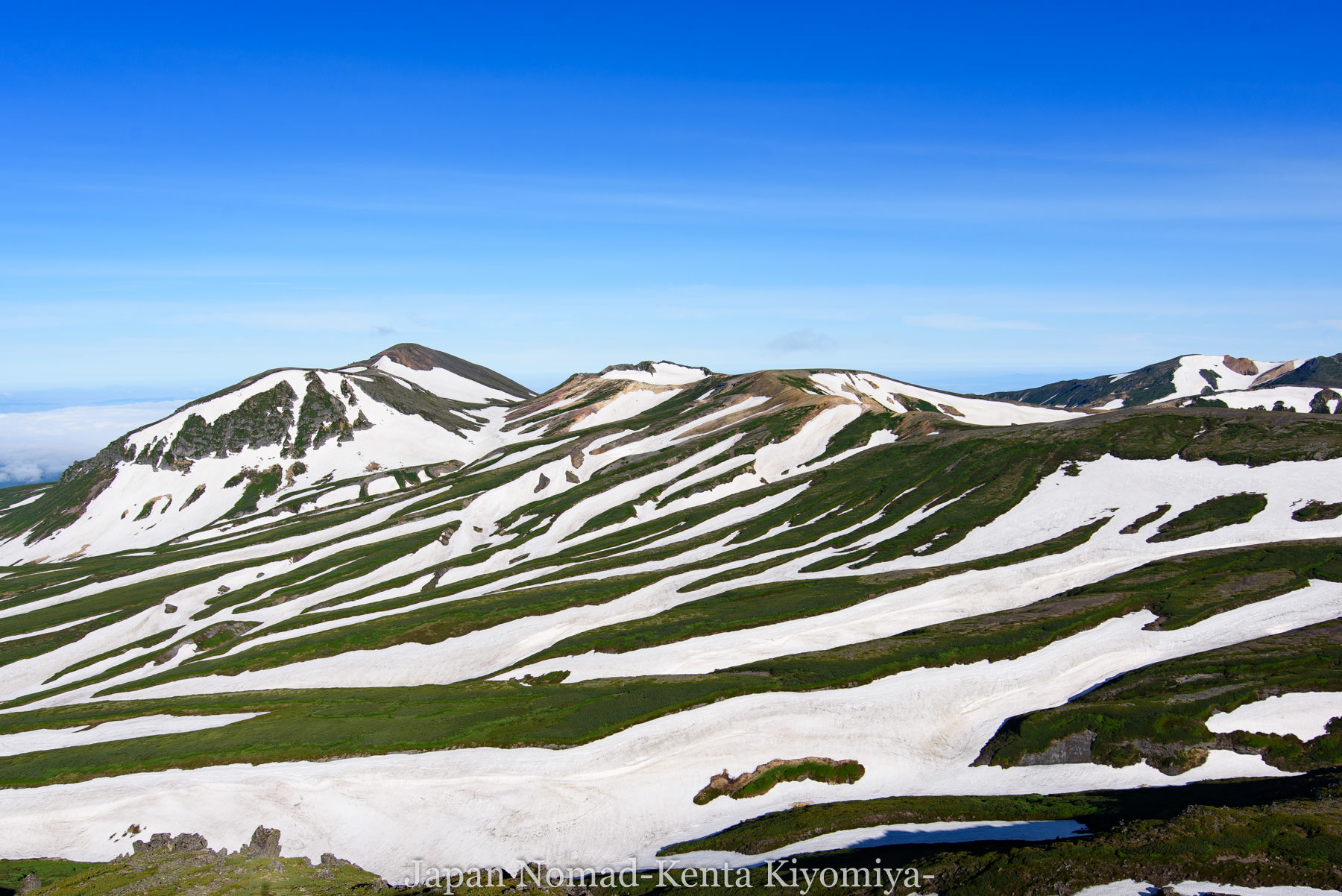 【大雪山】絶景の大雪山縦走&初のテント泊!その3(赤岳~緑岳~白雲岳~黒岳)