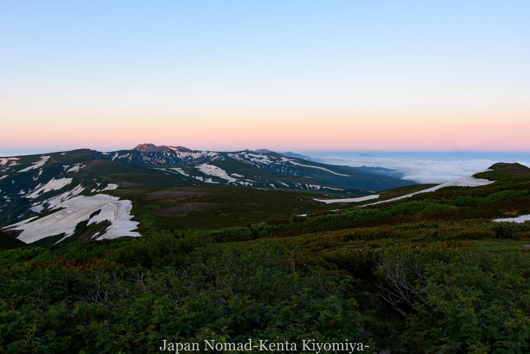 自転車日本一周78日目(大雪山縦走)-Japan Nomad (2)