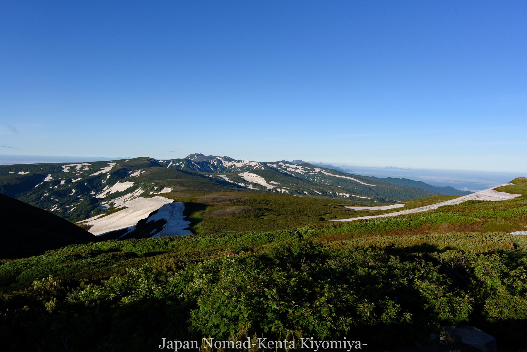 自転車日本一周78日目(大雪山縦走)-Japan Nomad (3)