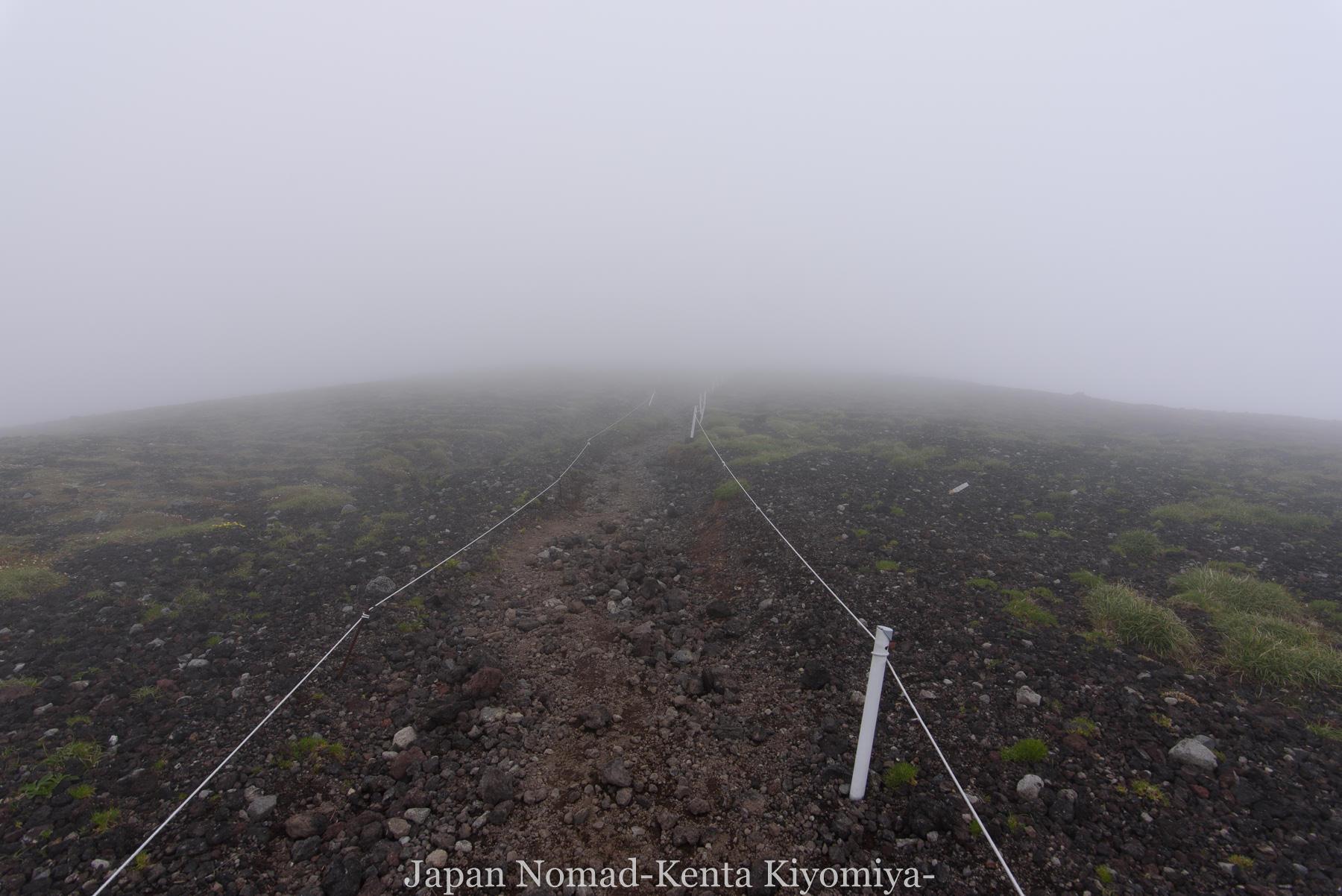 自転車日本一周78日目(大雪山縦走)-Japan Nomad (34)