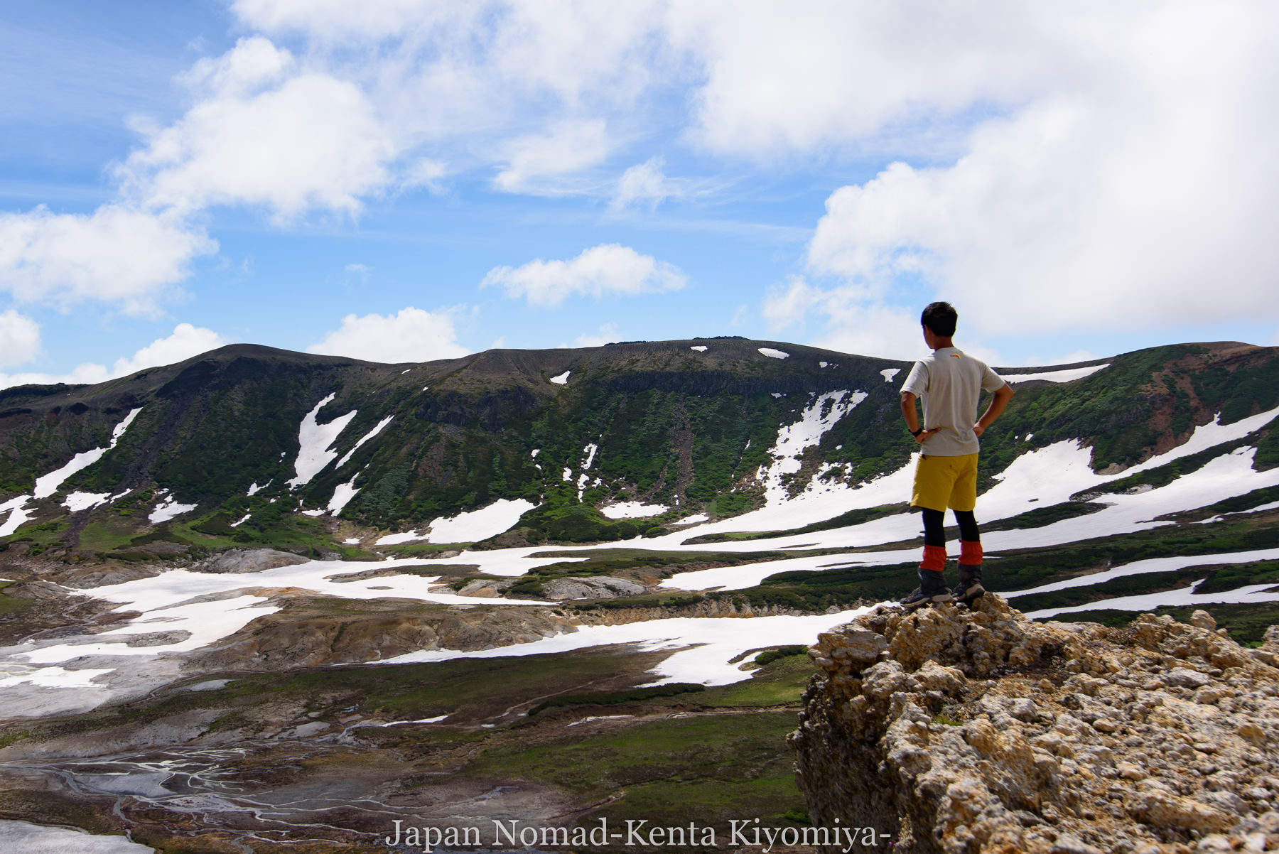 自転車日本一周78日目(大雪山縦走)-Japan Nomad (37)
