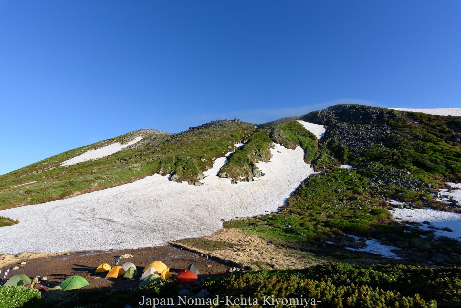 自転車日本一周78日目(大雪山縦走)-Japan Nomad (4)