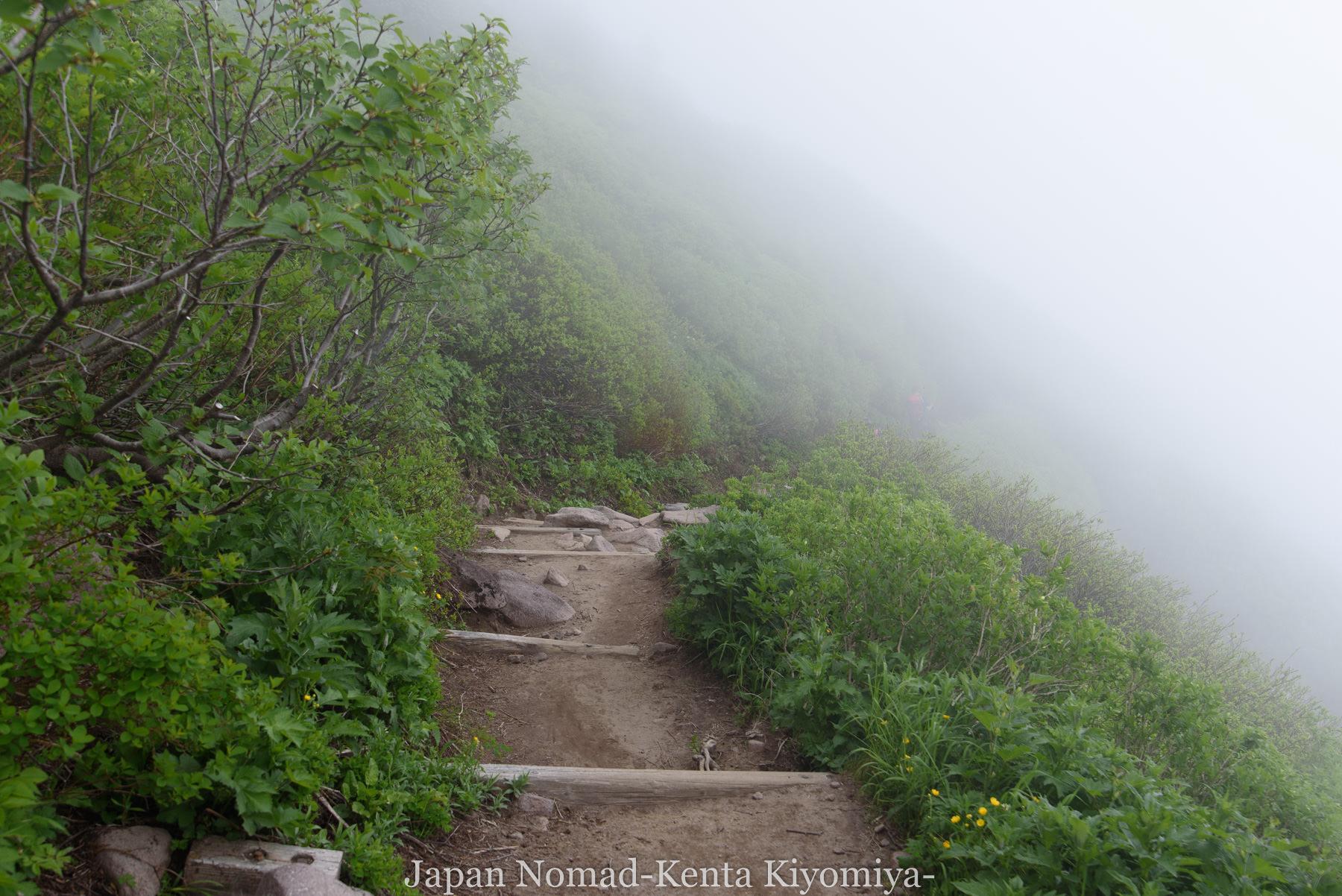 自転車日本一周78日目(大雪山縦走)-Japan Nomad (61)