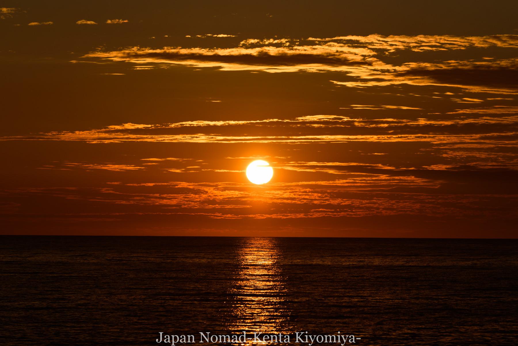 自転車日本一周80日目(留萌黄金岬)-Japan Nomad (30)