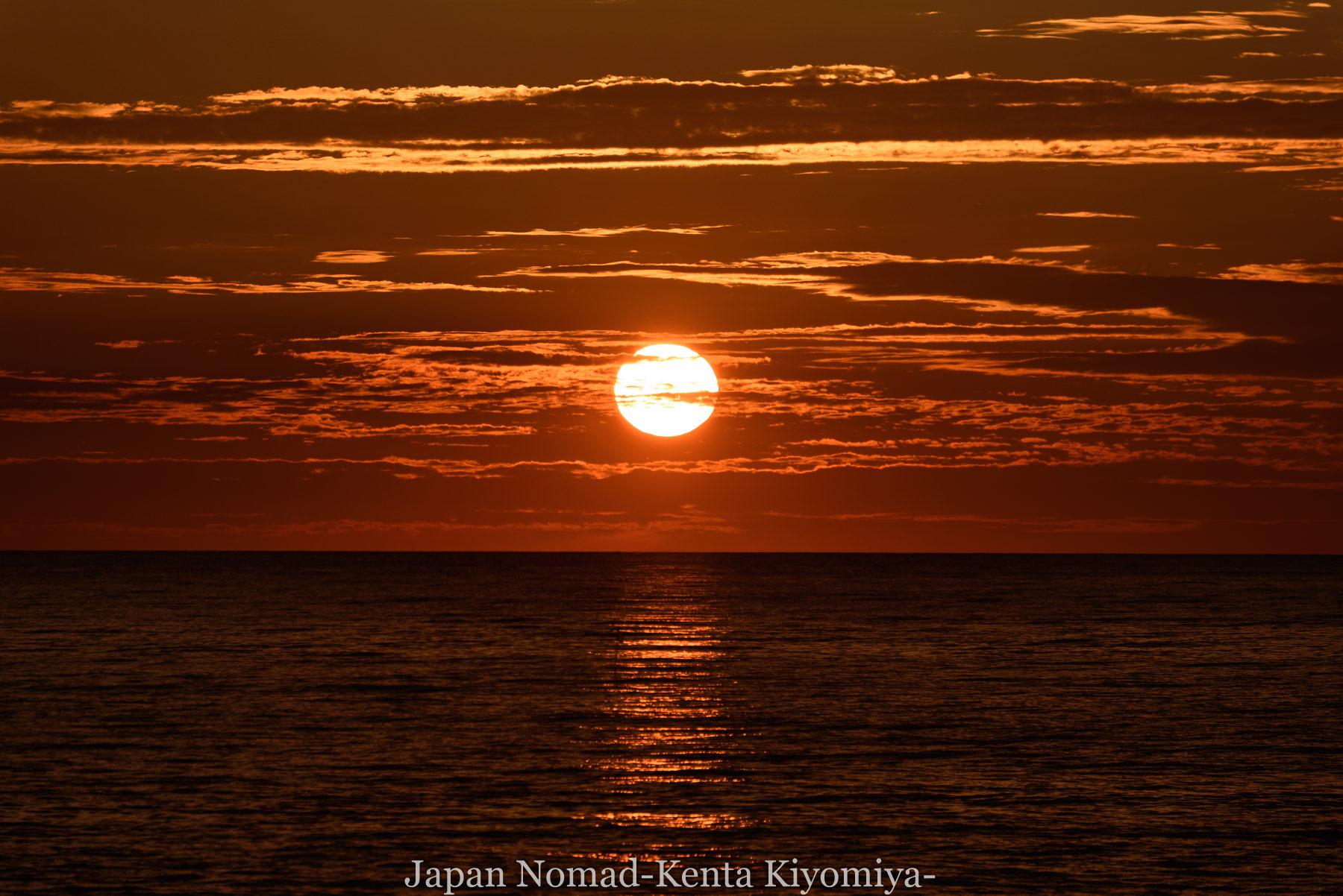 自転車日本一周80日目(留萌黄金岬)-Japan Nomad (32)