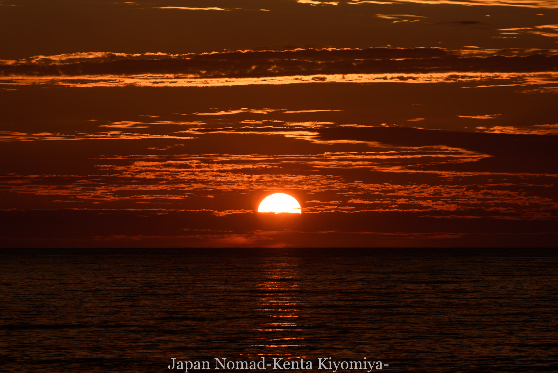 自転車日本一周80日目(留萌黄金岬)-Japan Nomad (34)