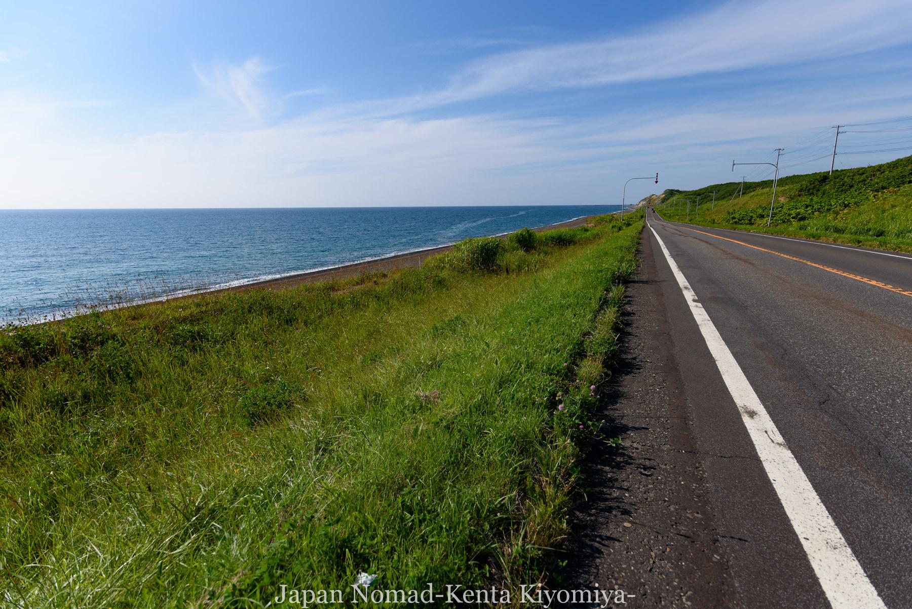 自転車日本一周81日目(オロロンライン)-Japan Nomad (27)