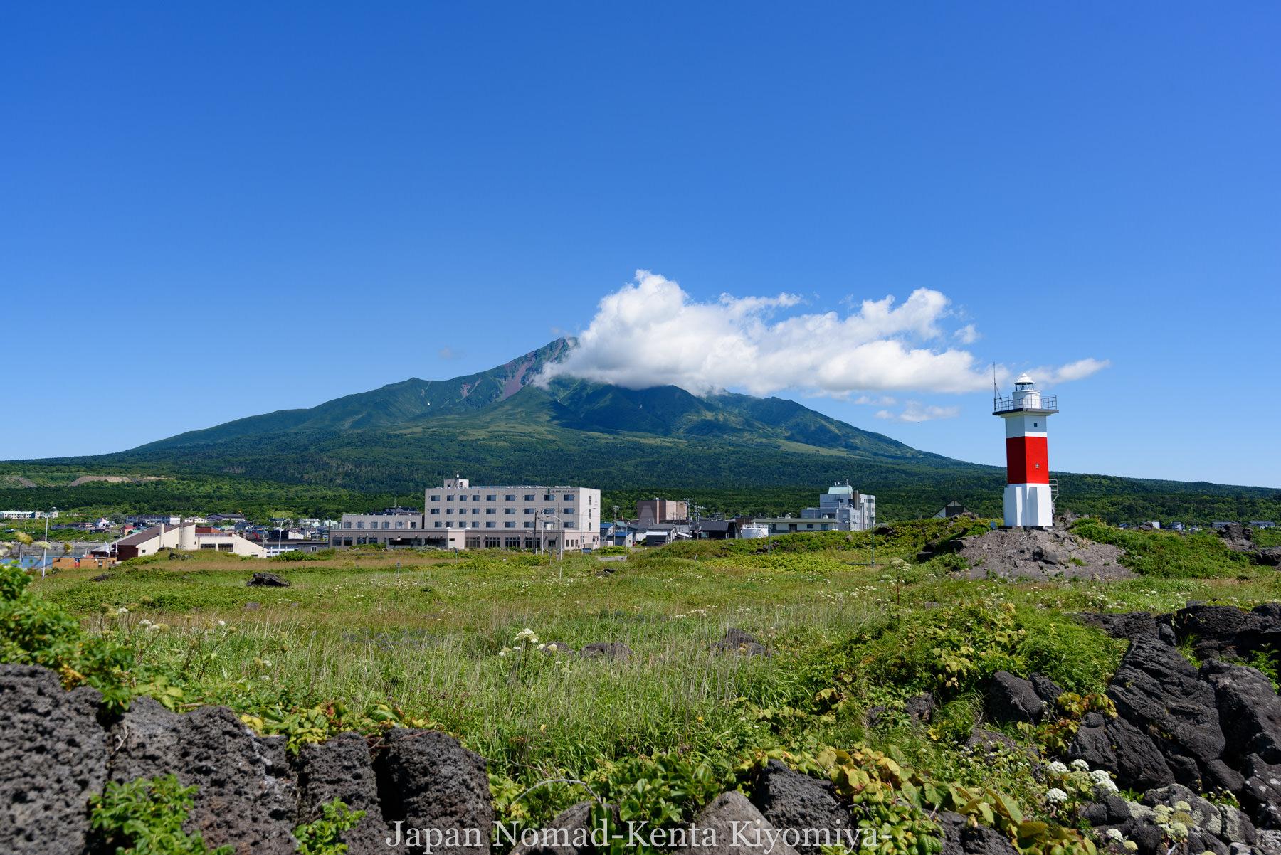 自転車日本一周85日目(利尻島)-Japan Nomad (19)