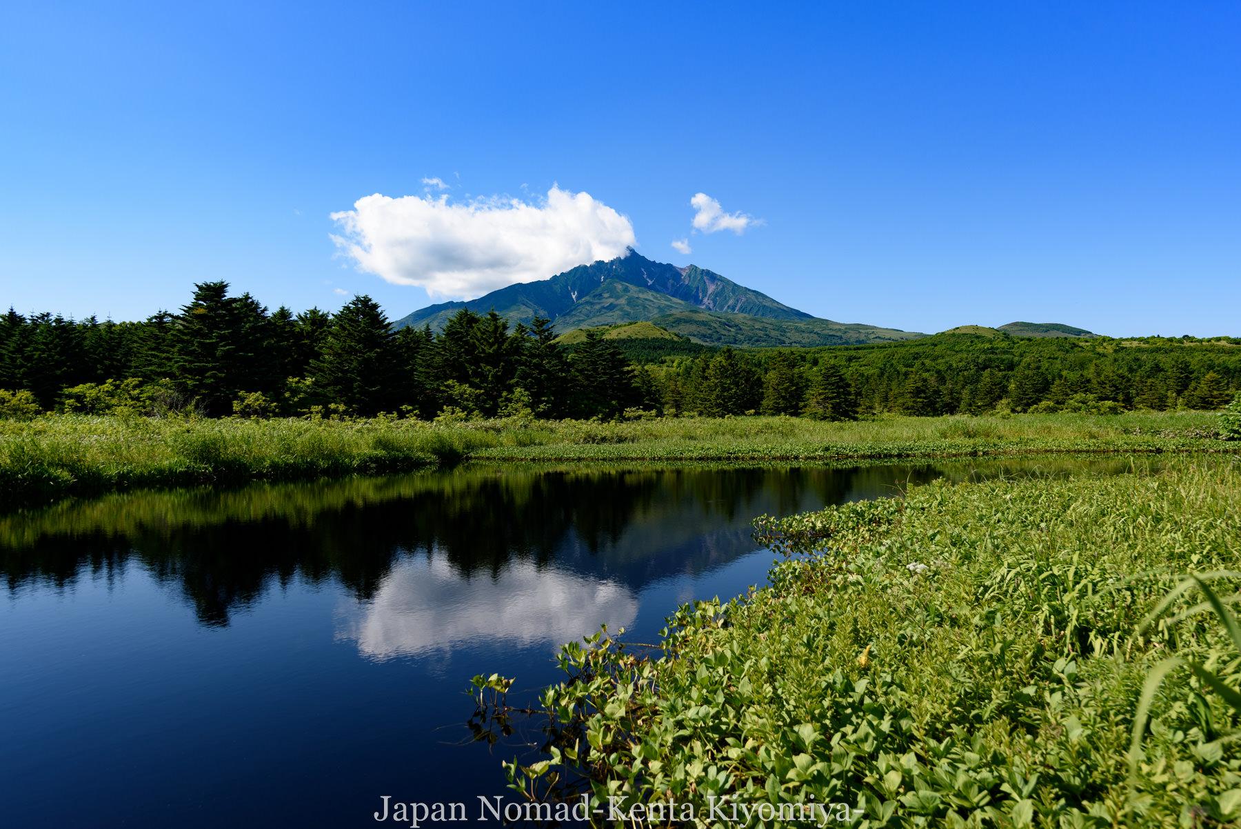 自転車日本一周85日目(利尻島)-Japan Nomad (28)