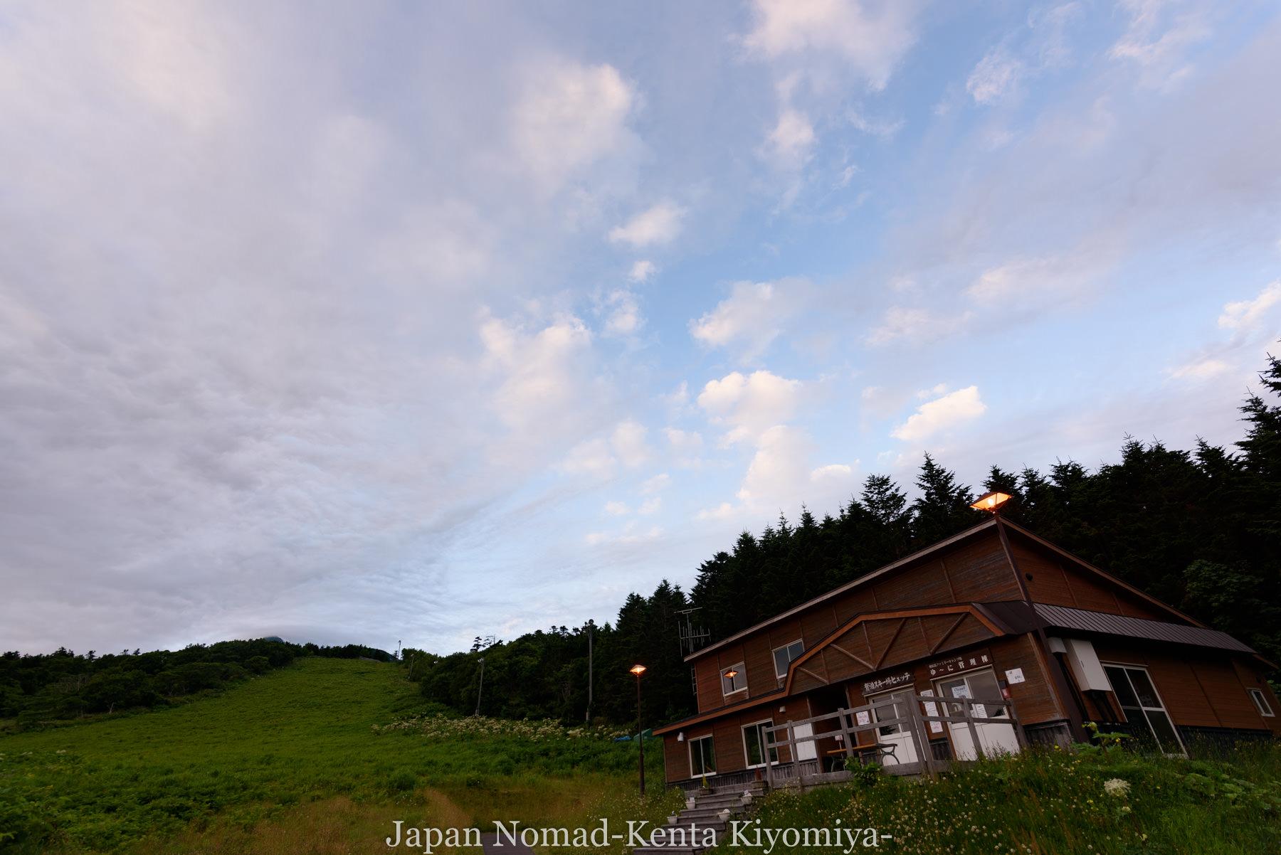 自転車日本一周86日目(利尻山)-Japan Nomad (1)
