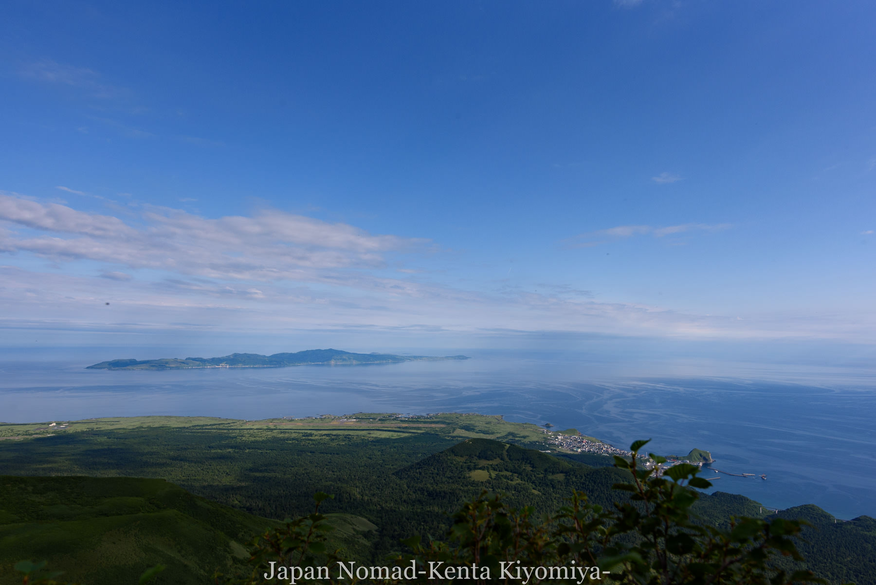 自転車日本一周86日目(利尻山)-Japan Nomad (18)