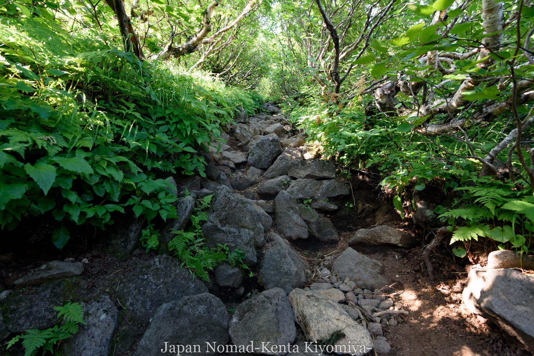 自転車日本一周86日目(利尻山)-Japan Nomad (19)
