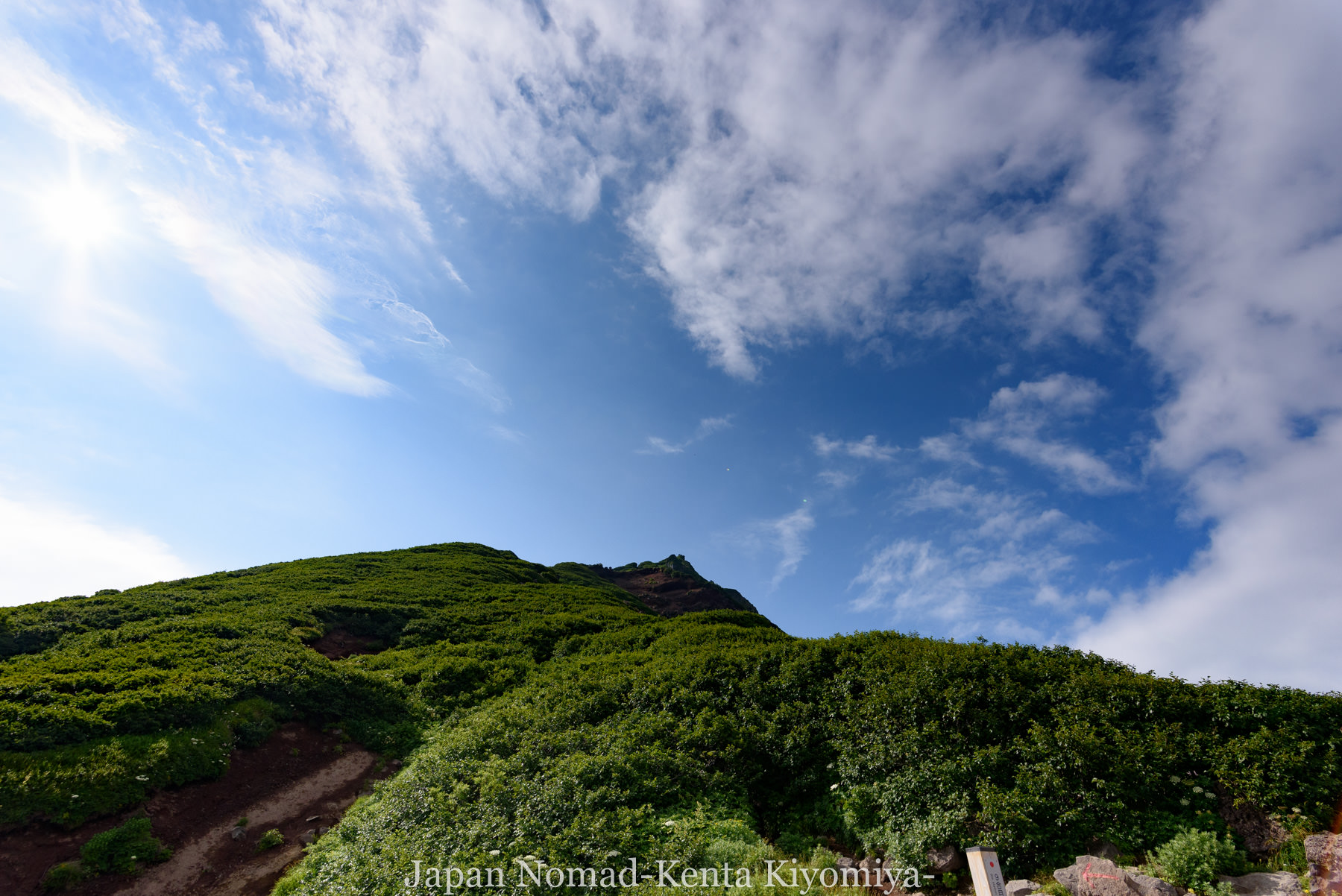 自転車日本一周86日目(利尻山)-Japan Nomad (25)