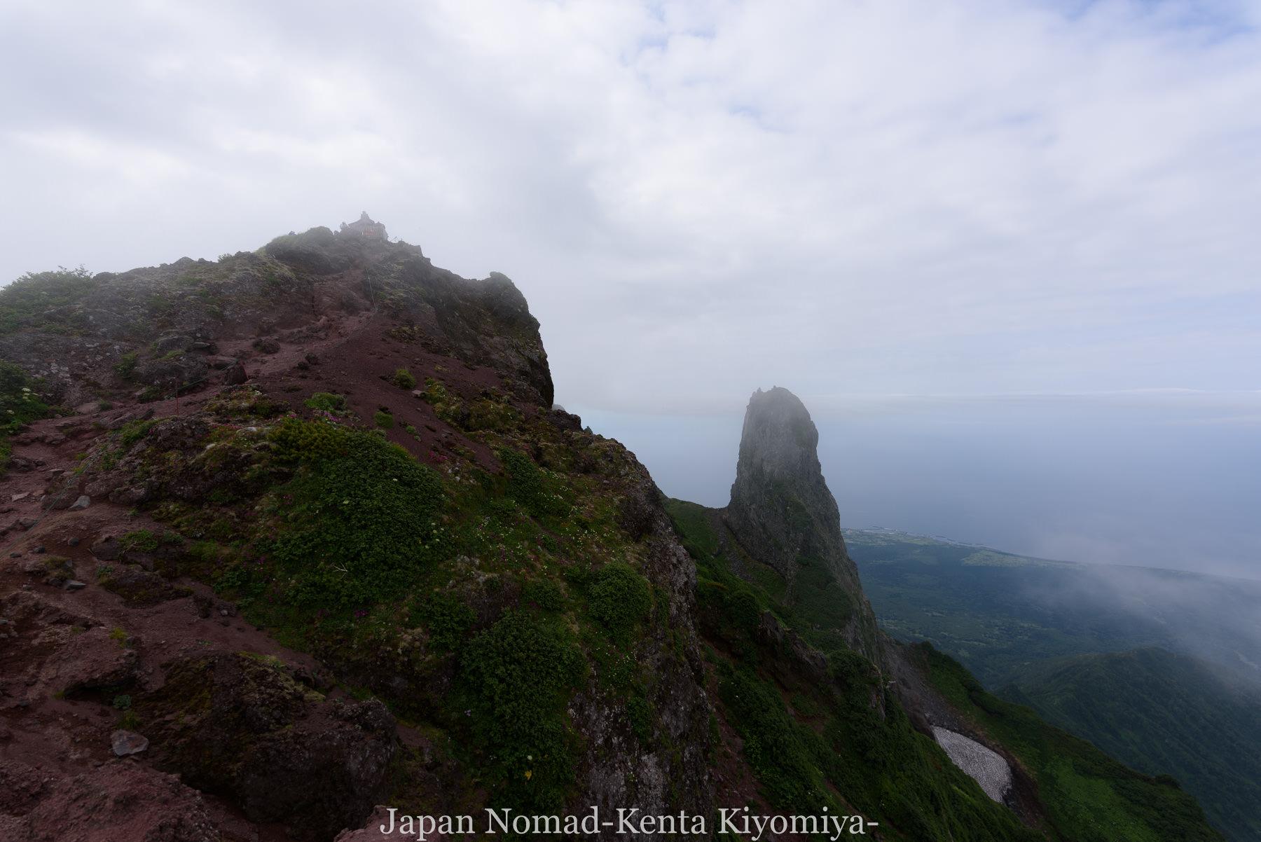自転車日本一周86日目(利尻山)-Japan Nomad (29)