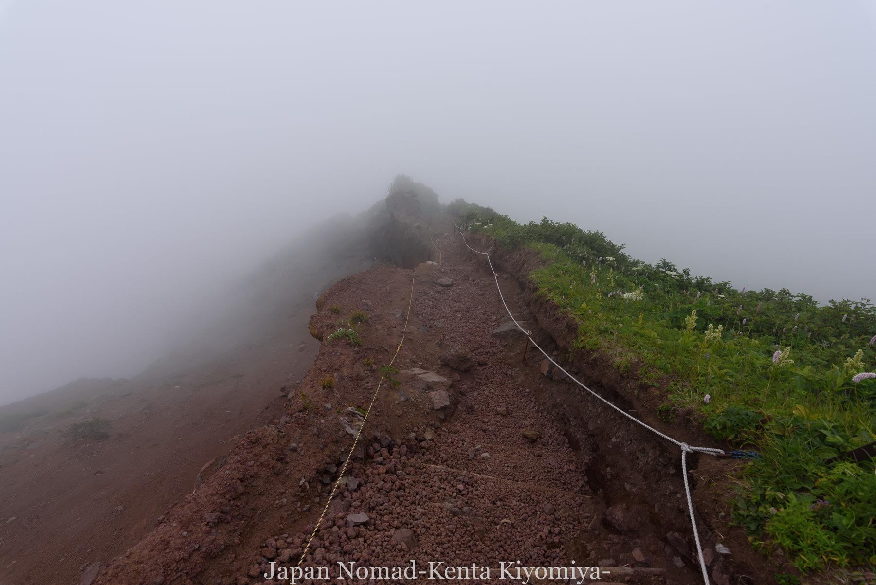 自転車日本一周86日目(利尻山)-Japan Nomad (37)