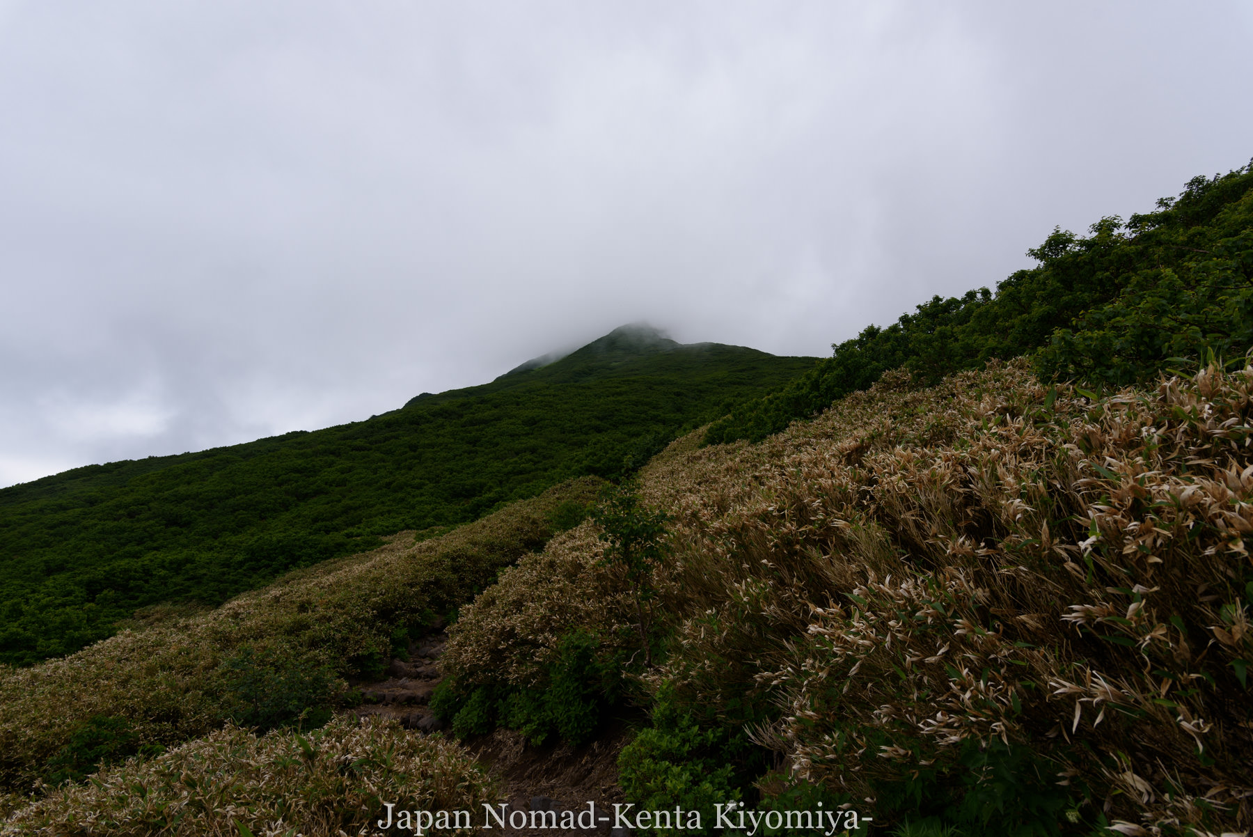 自転車日本一周86日目(利尻山)-Japan Nomad (38)