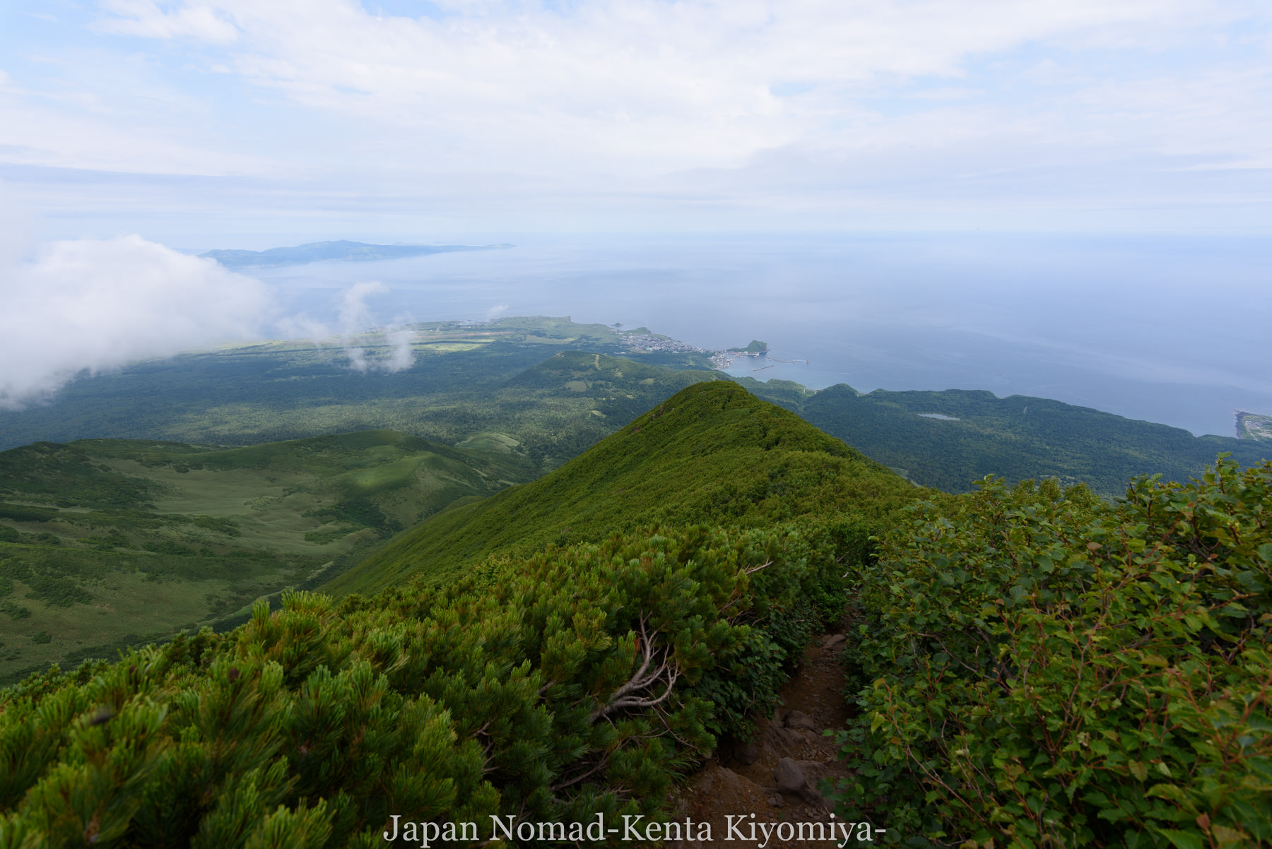 自転車日本一周86日目(利尻山)-Japan Nomad (39)