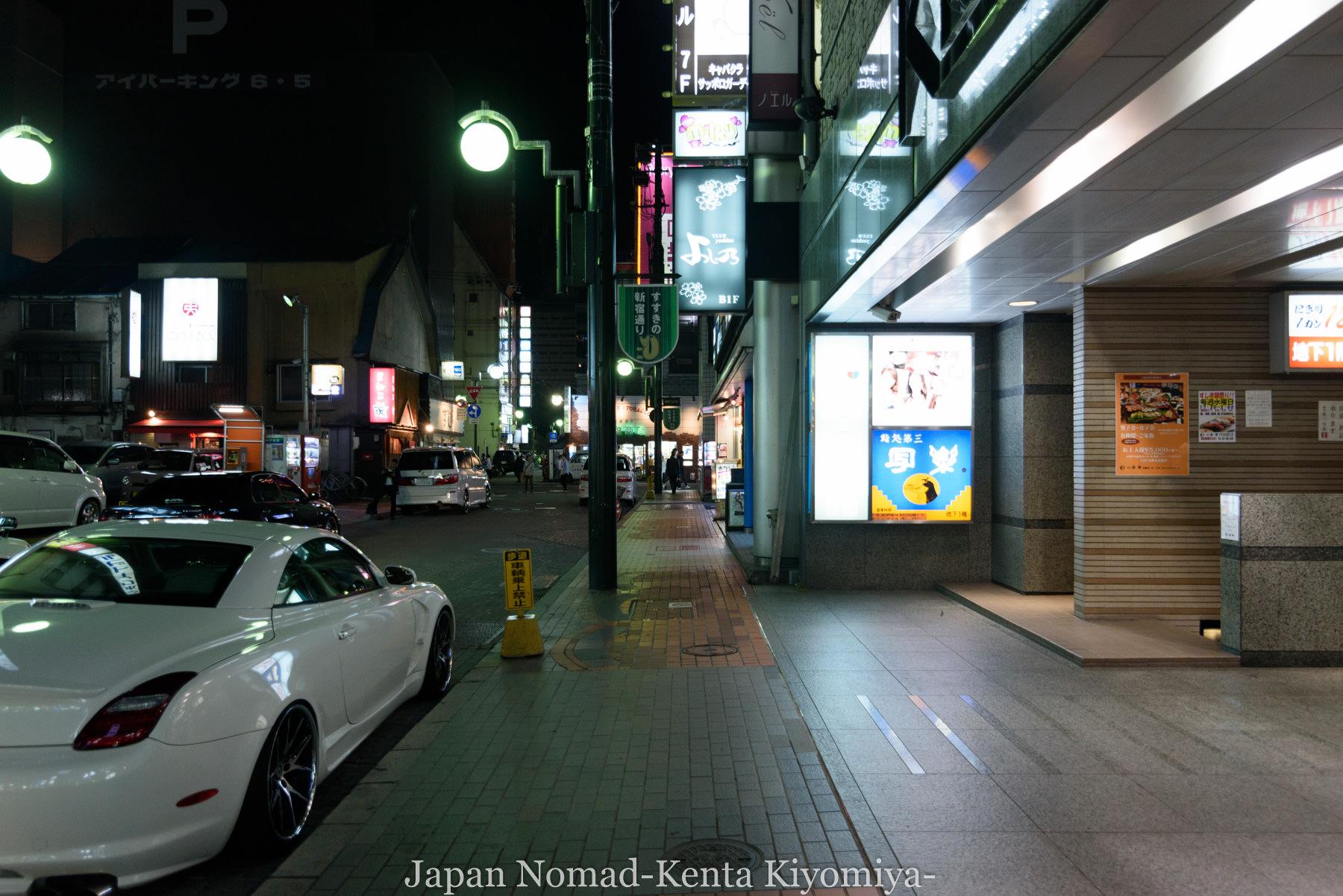 自転車日本一周87日目(iphone修理で札幌へ)-Japan Nomad (30)
