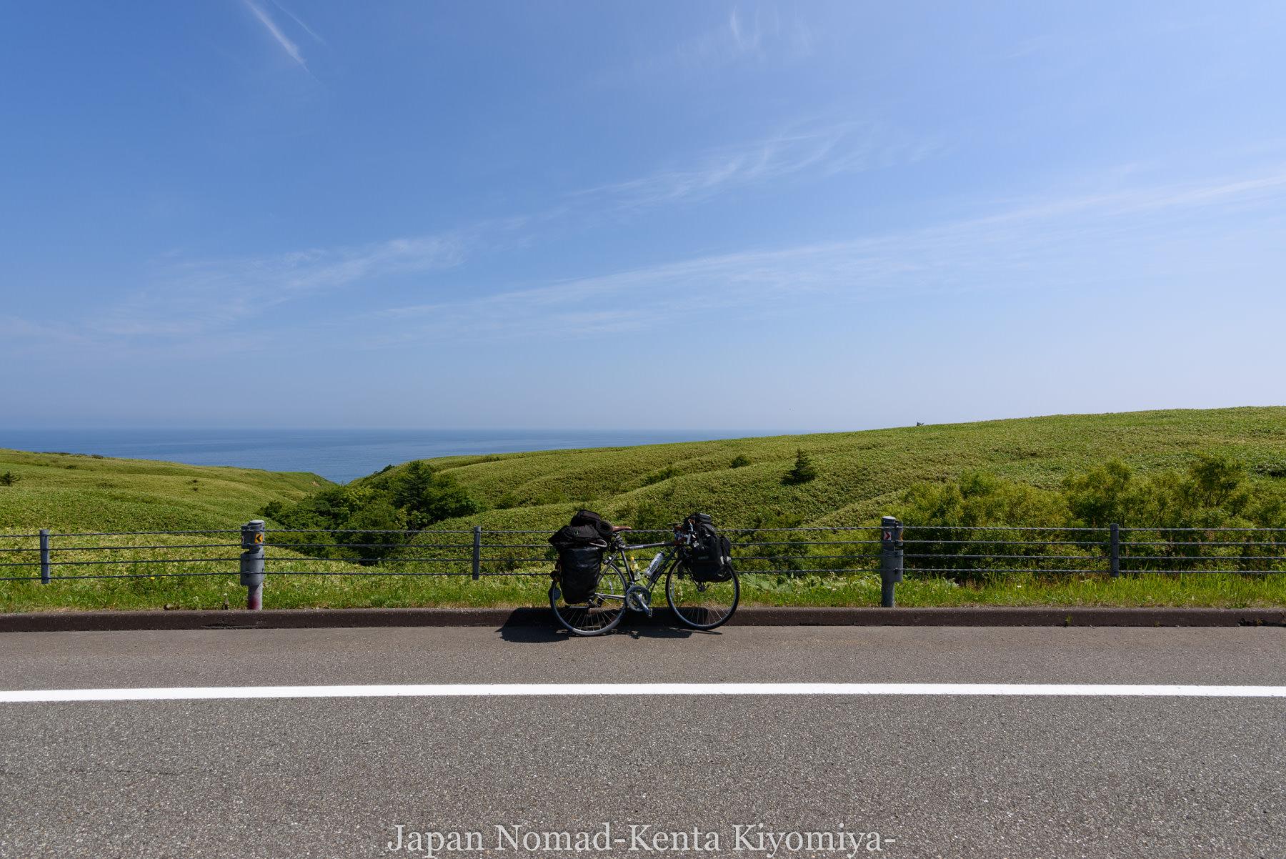 自転車日本一周89日目(宗谷岬、クッチャロ湖)-Japan Nomad (17)