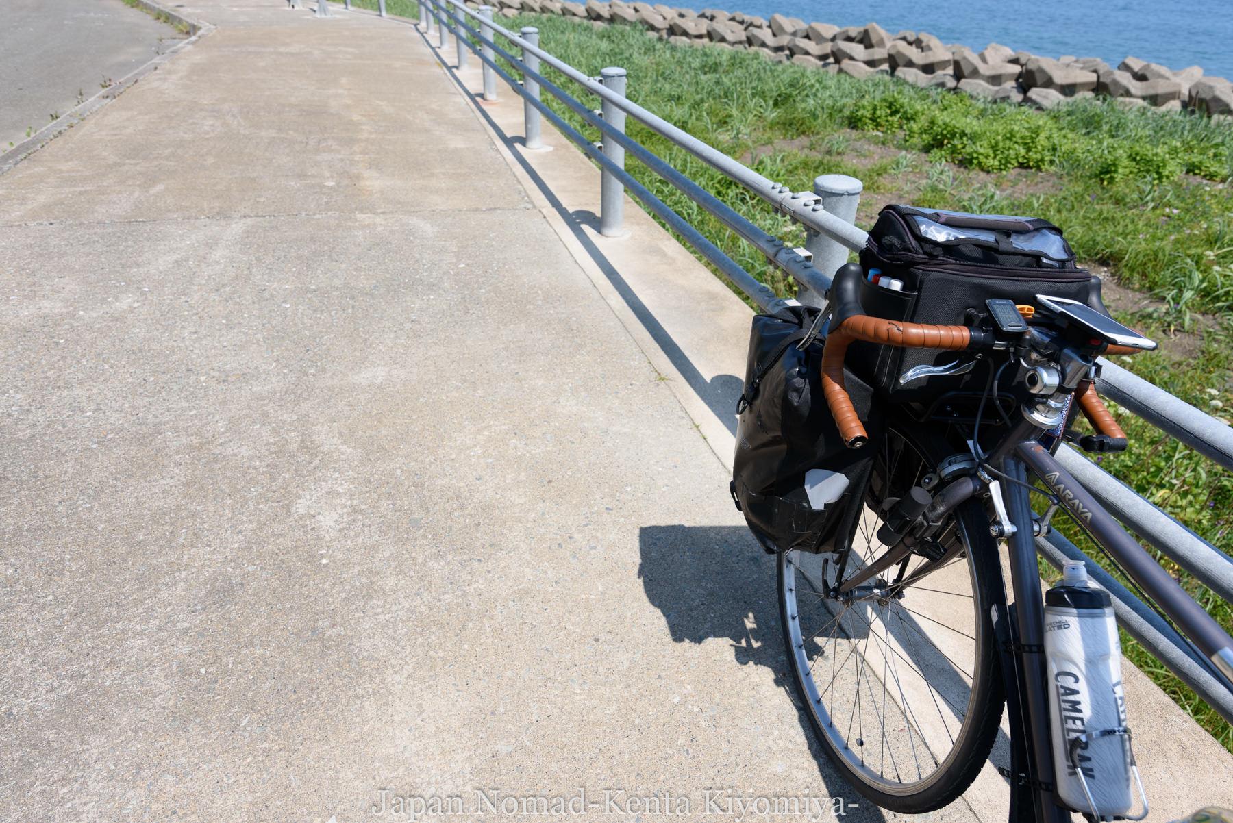 自転車日本一周89日目(宗谷岬、クッチャロ湖)-Japan Nomad (18)