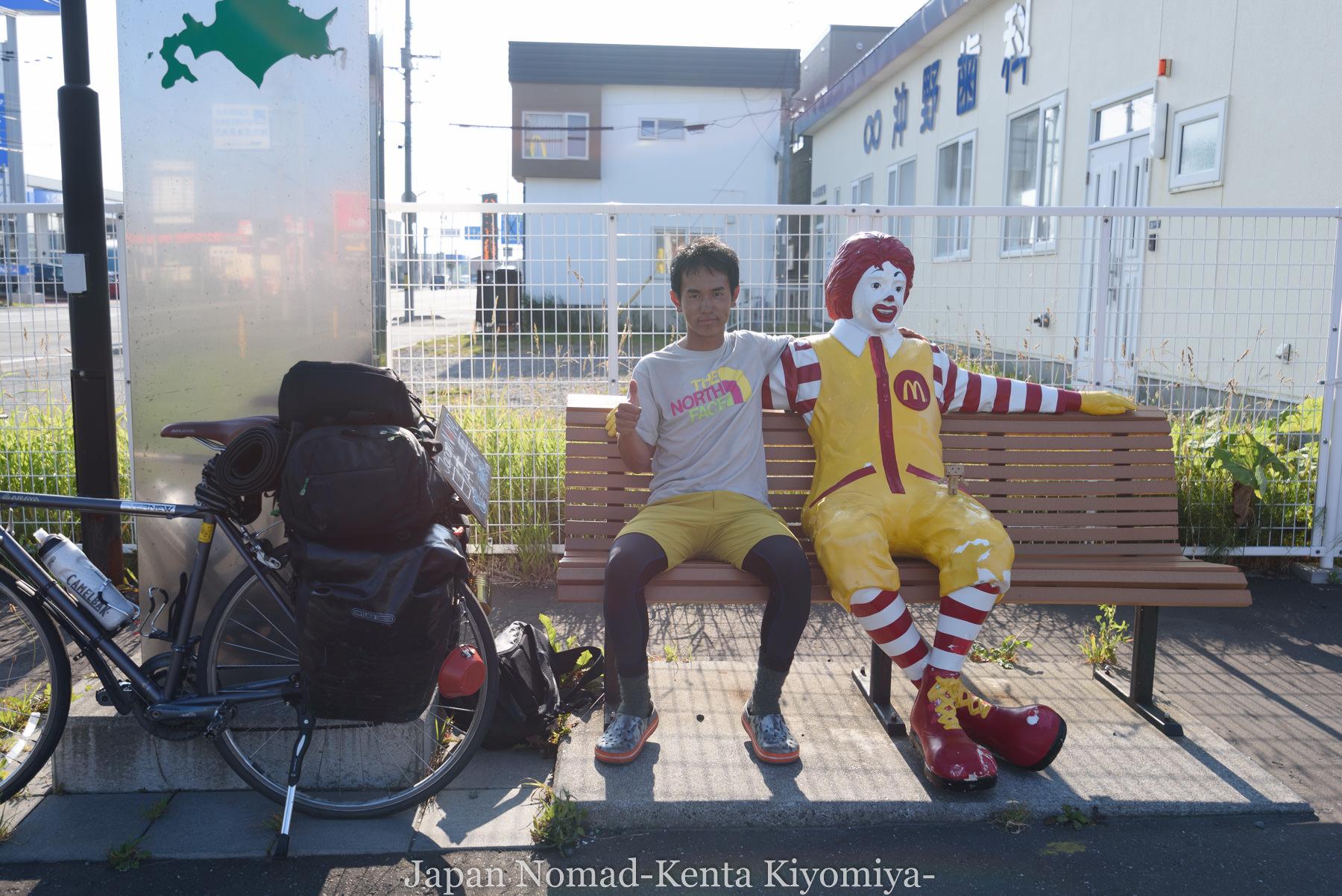 自転車日本一周89日目(宗谷岬、クッチャロ湖)-Japan Nomad (2)