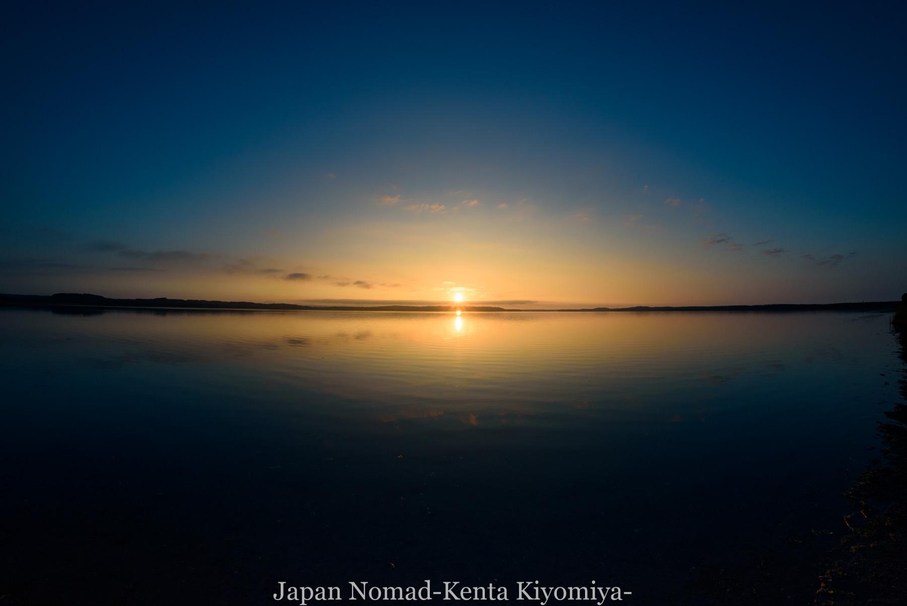 自転車日本一周89日目(宗谷岬、クッチャロ湖)-Japan Nomad (36)