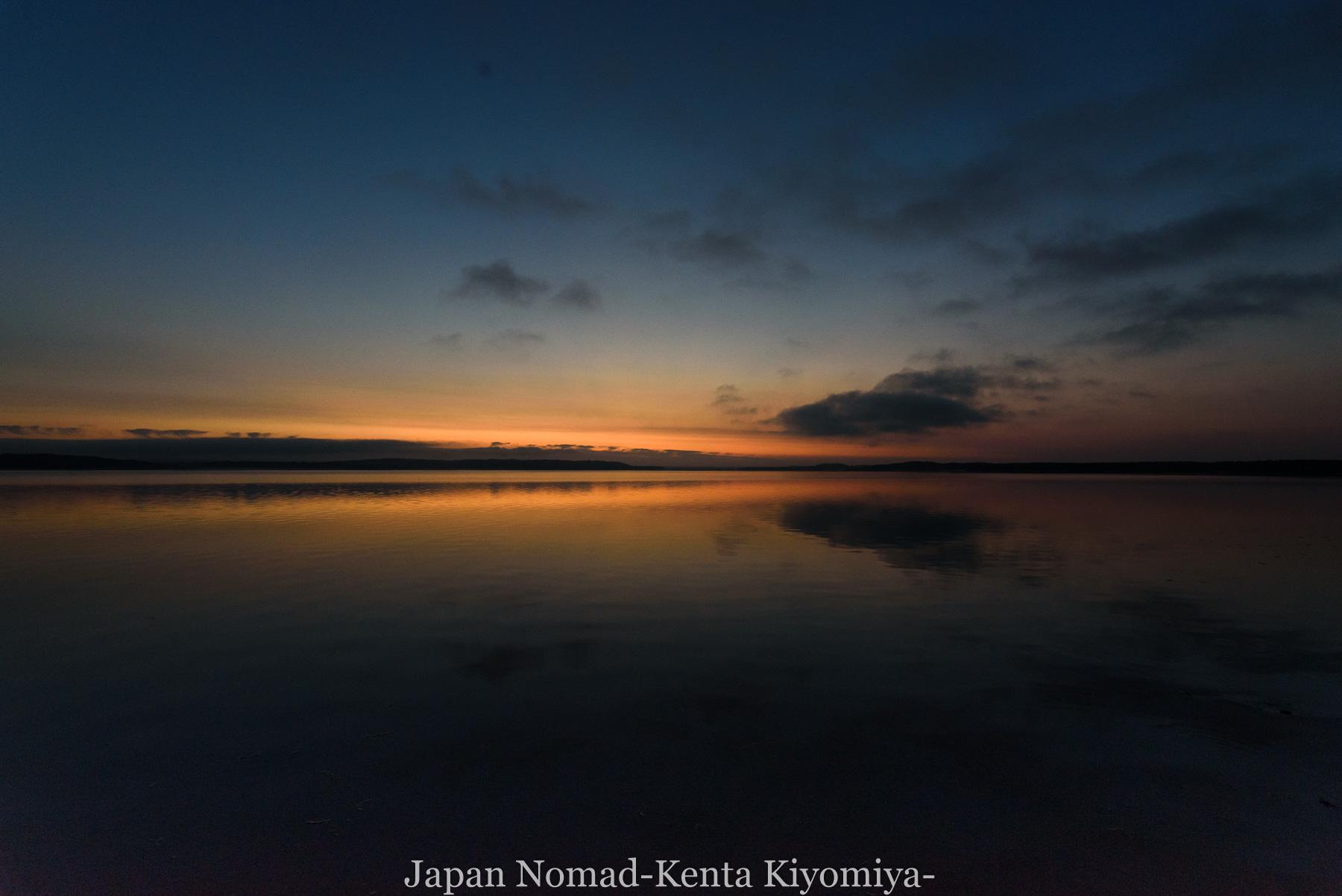 自転車日本一周89日目(宗谷岬、クッチャロ湖)-Japan Nomad (40)