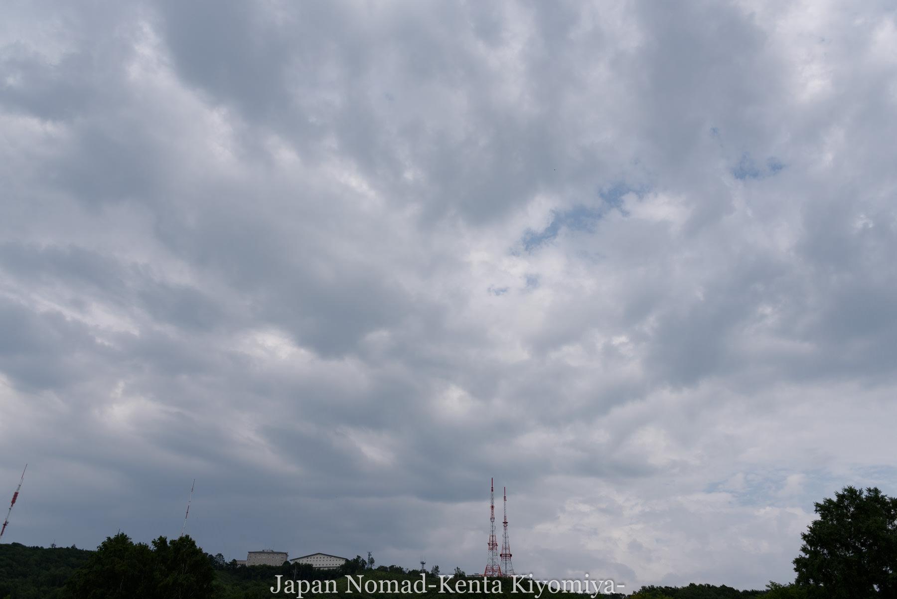 自転車日本一周95日目(メルヘンの丘)-Japan Nomad (32)