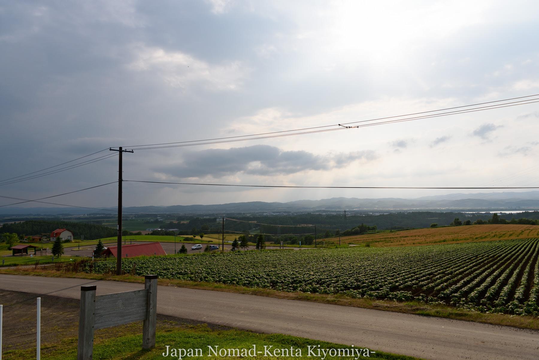 自転車日本一周95日目(メルヘンの丘)-Japan Nomad (41)