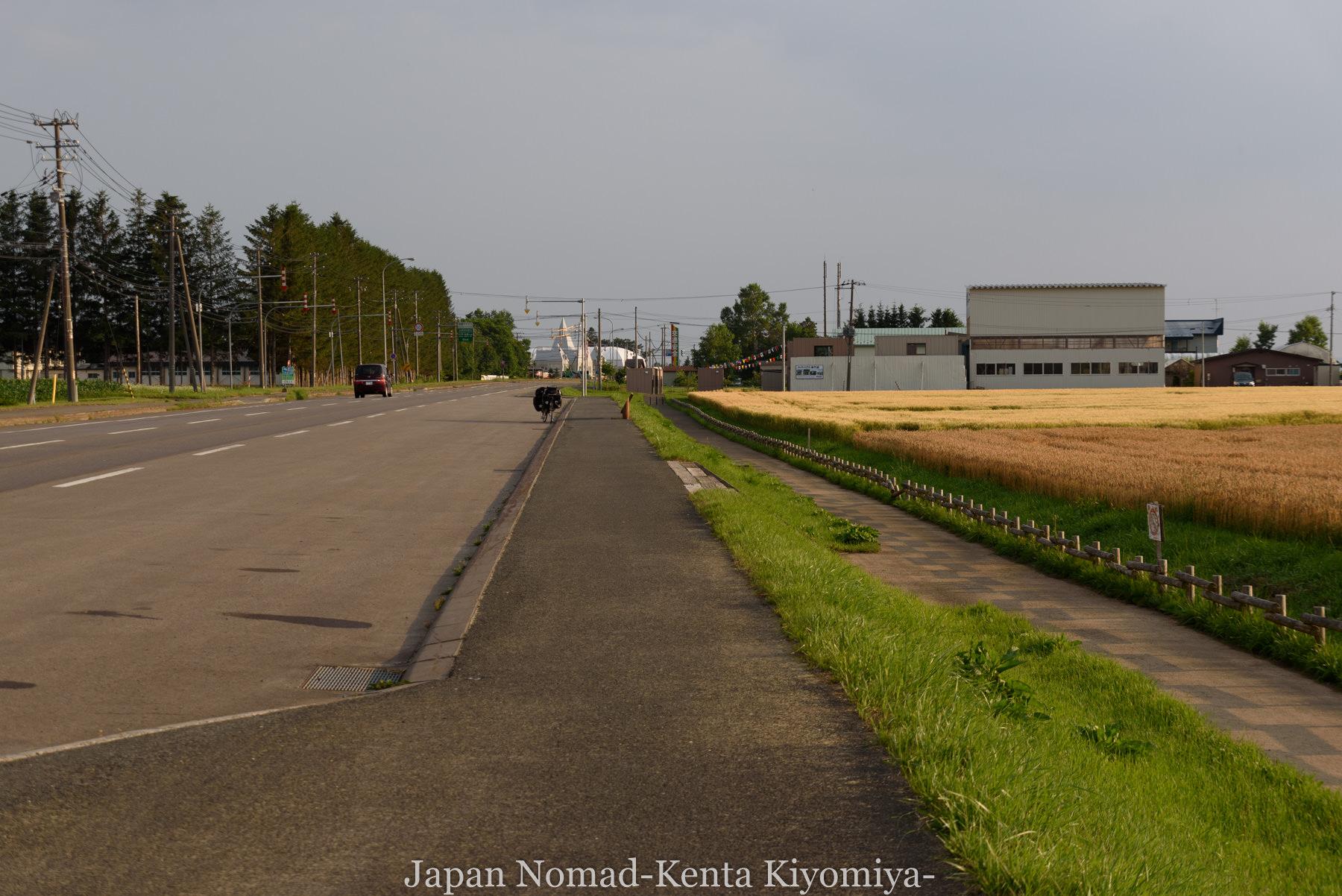 自転車日本一周95日目(メルヘンの丘)-Japan Nomad (43)