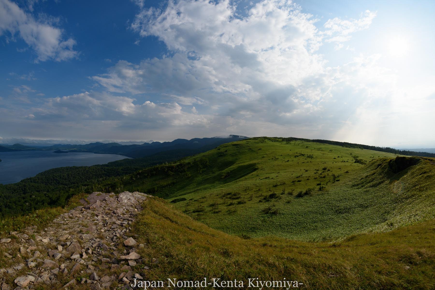 自転車日本一周96日目(美幌峠)-Japan Nomad (28)