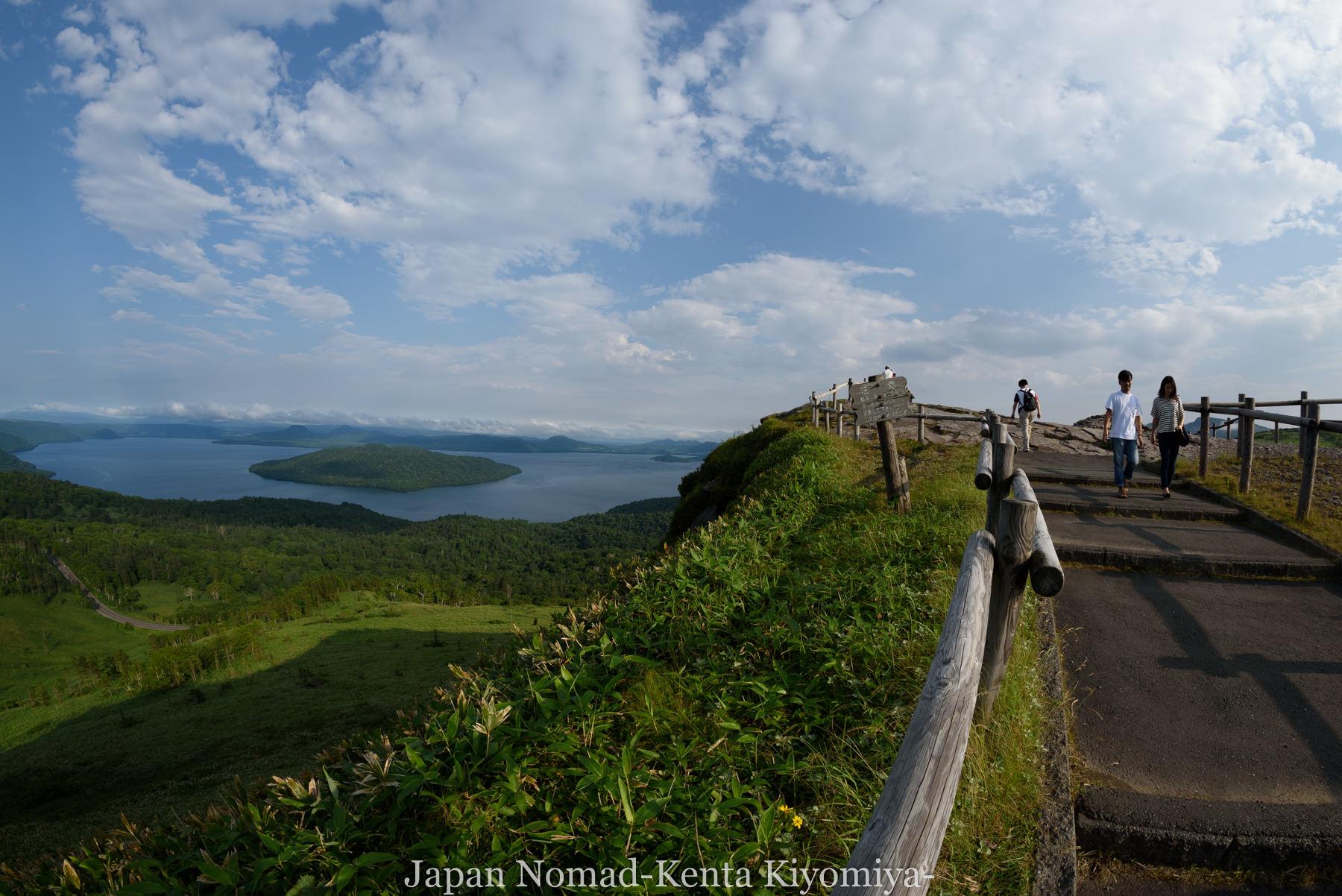 自転車日本一周96日目(美幌峠)-Japan Nomad (32)